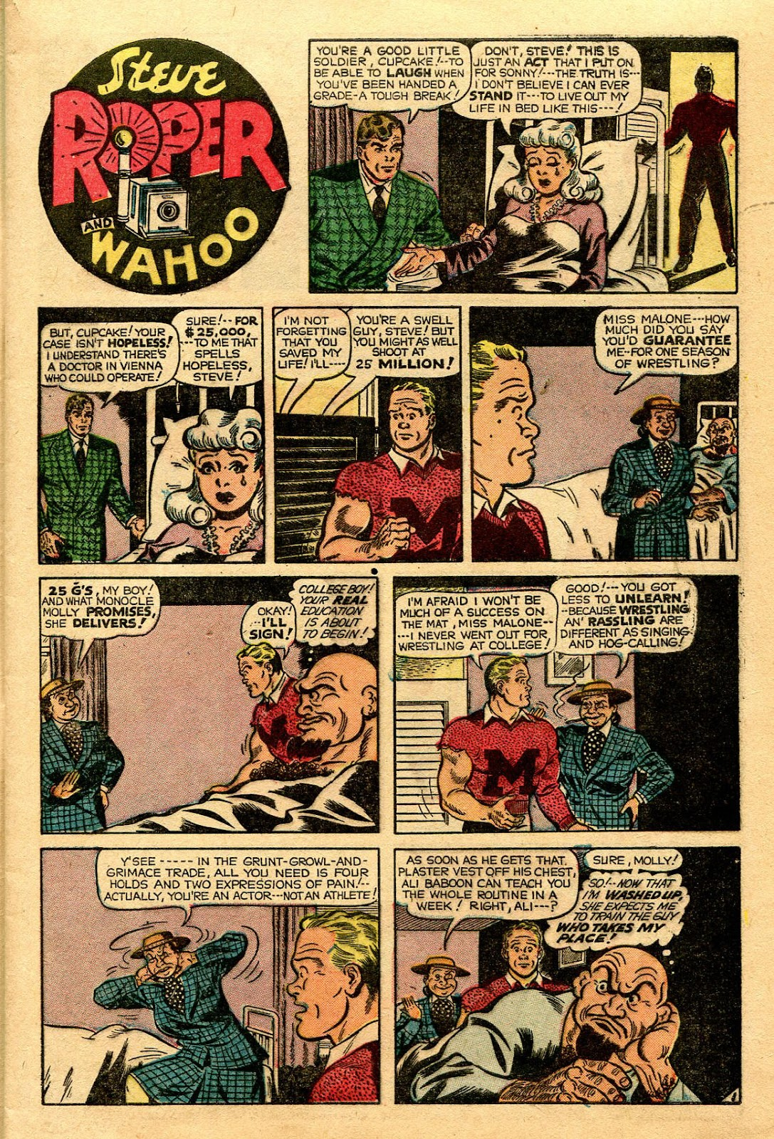 Read online Famous Funnies comic -  Issue #188 - 8