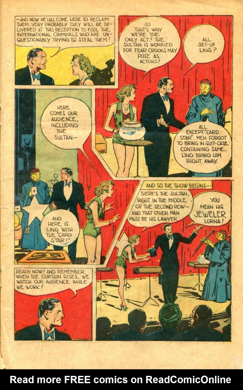 Read online Super-Magician Comics comic -  Issue #48 - 5