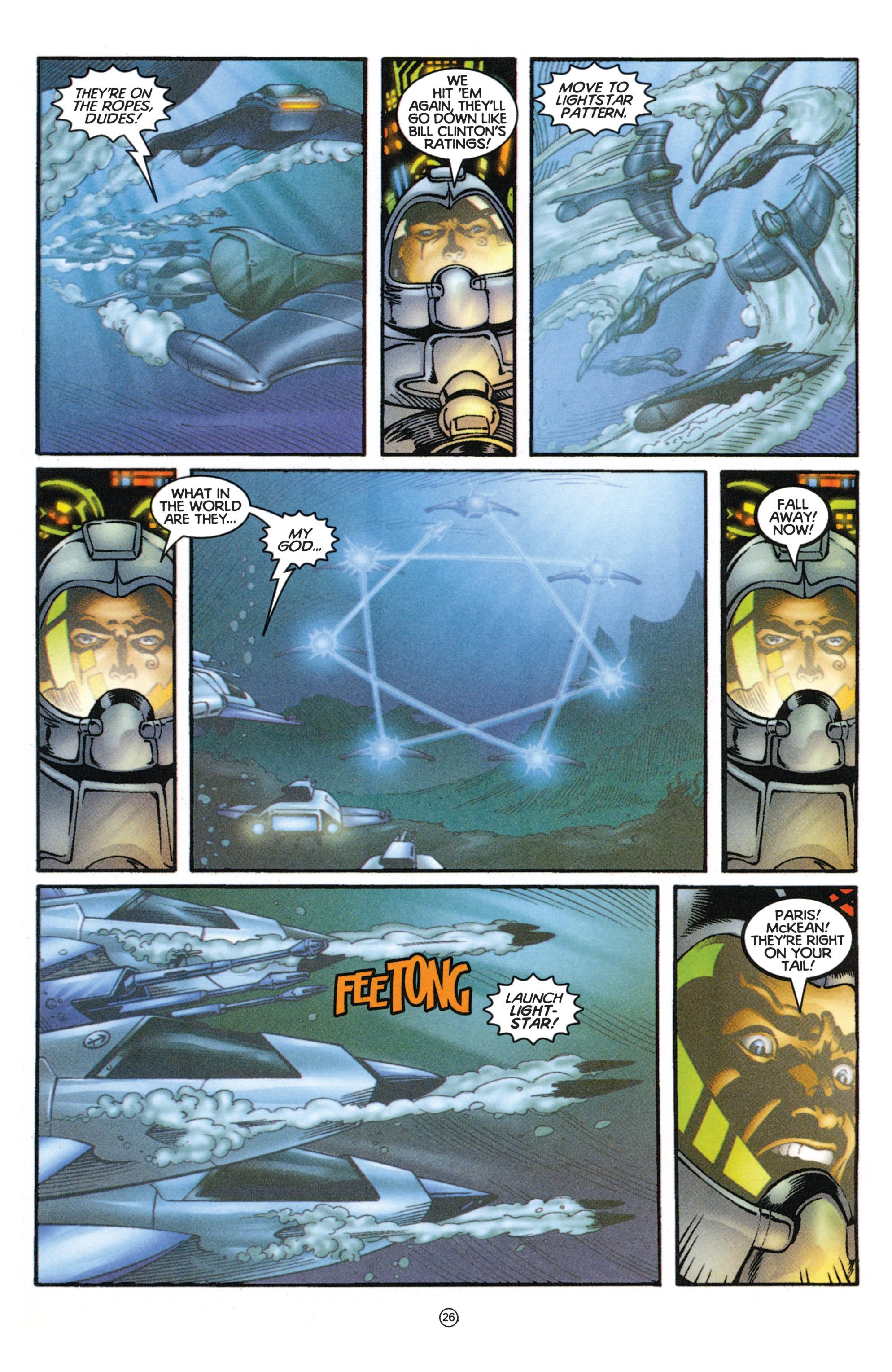 Read online Eternal Warriors comic -  Issue # Issue Mog - 23