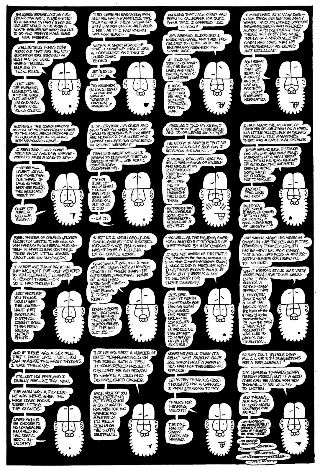 Read online The Nearly Complete Essential Hembeck Archives Omnibus comic -  Issue # TPB (Part 2) - 5