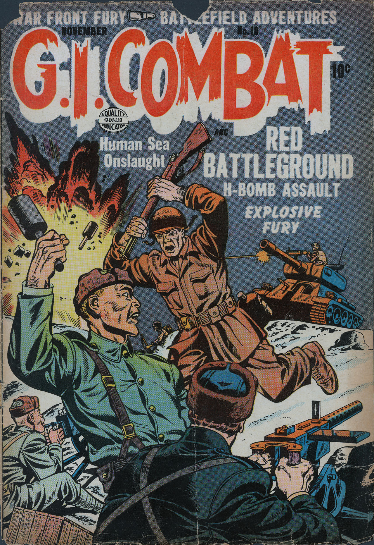 G.I. Combat (1952) 18 Page 1