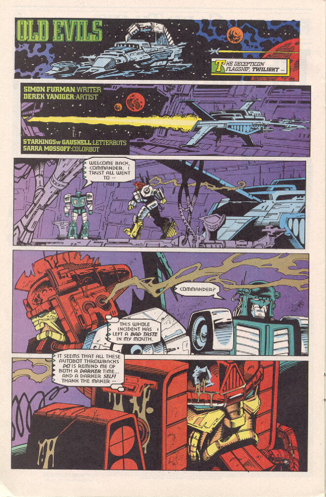 Read online Transformers: Generation 2 comic -  Issue #3 - 19