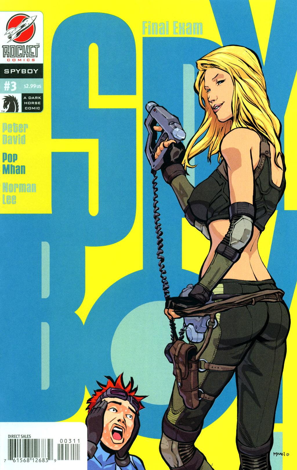 Read online SpyBoy: Final Exam comic -  Issue #3 - 1