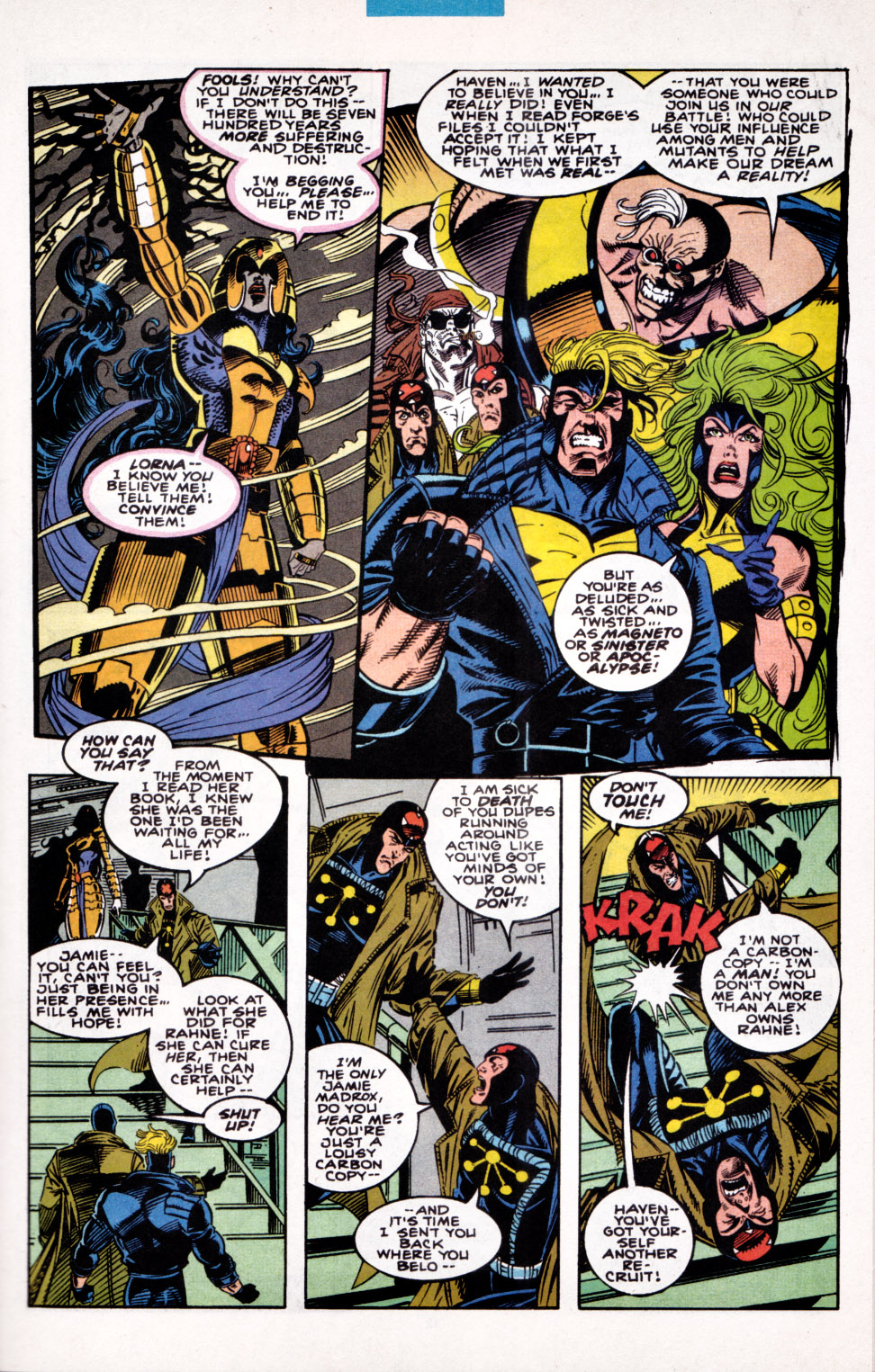 Read online X-Factor (1986) comic -  Issue #100 - 9