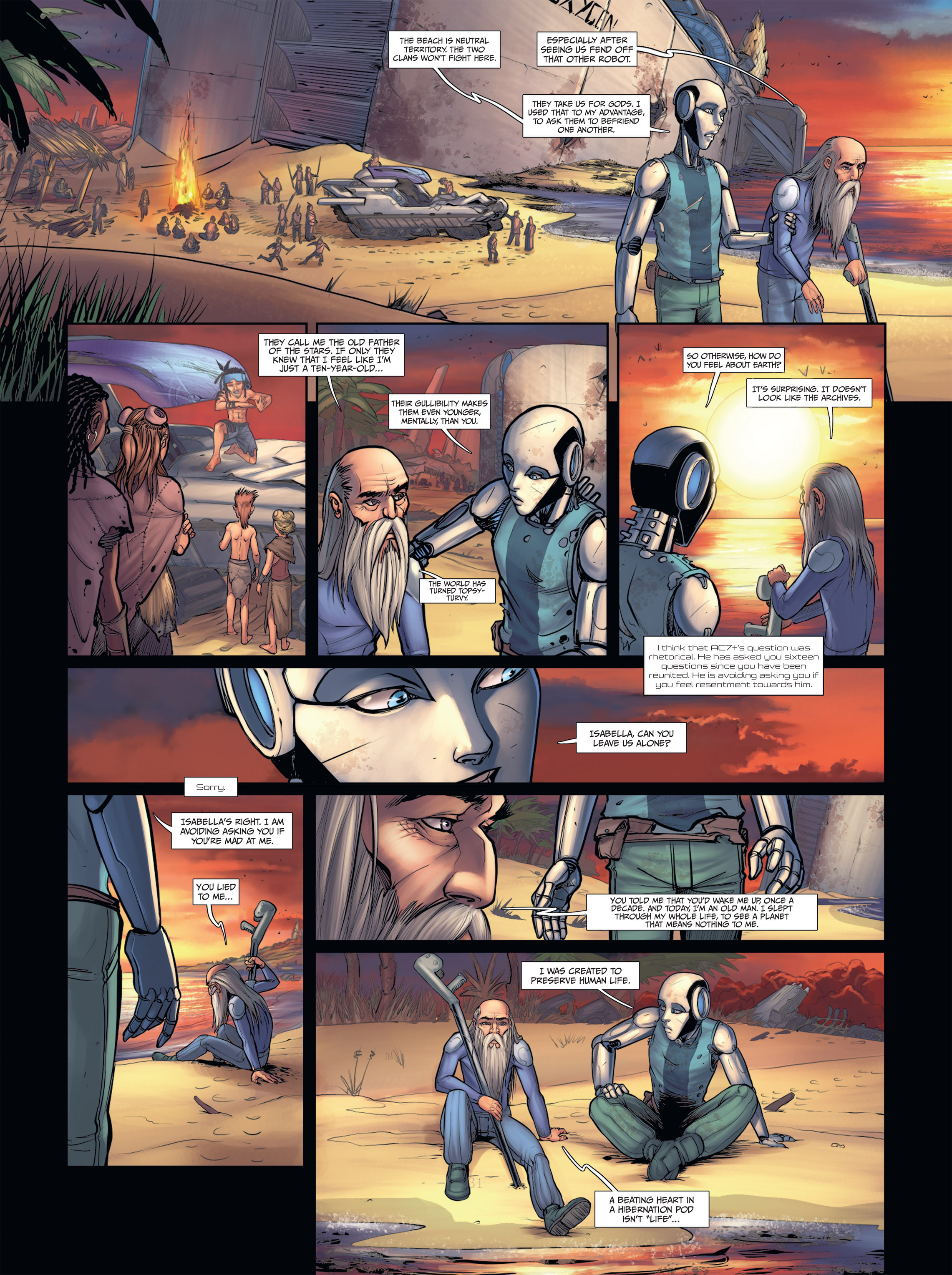 Read online Androïds comic -  Issue #2 - 33