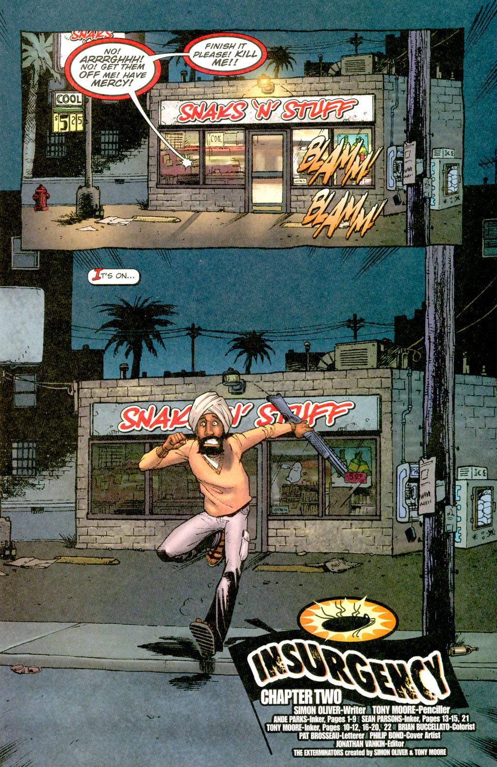 Read online The Exterminators comic -  Issue #7 - 4