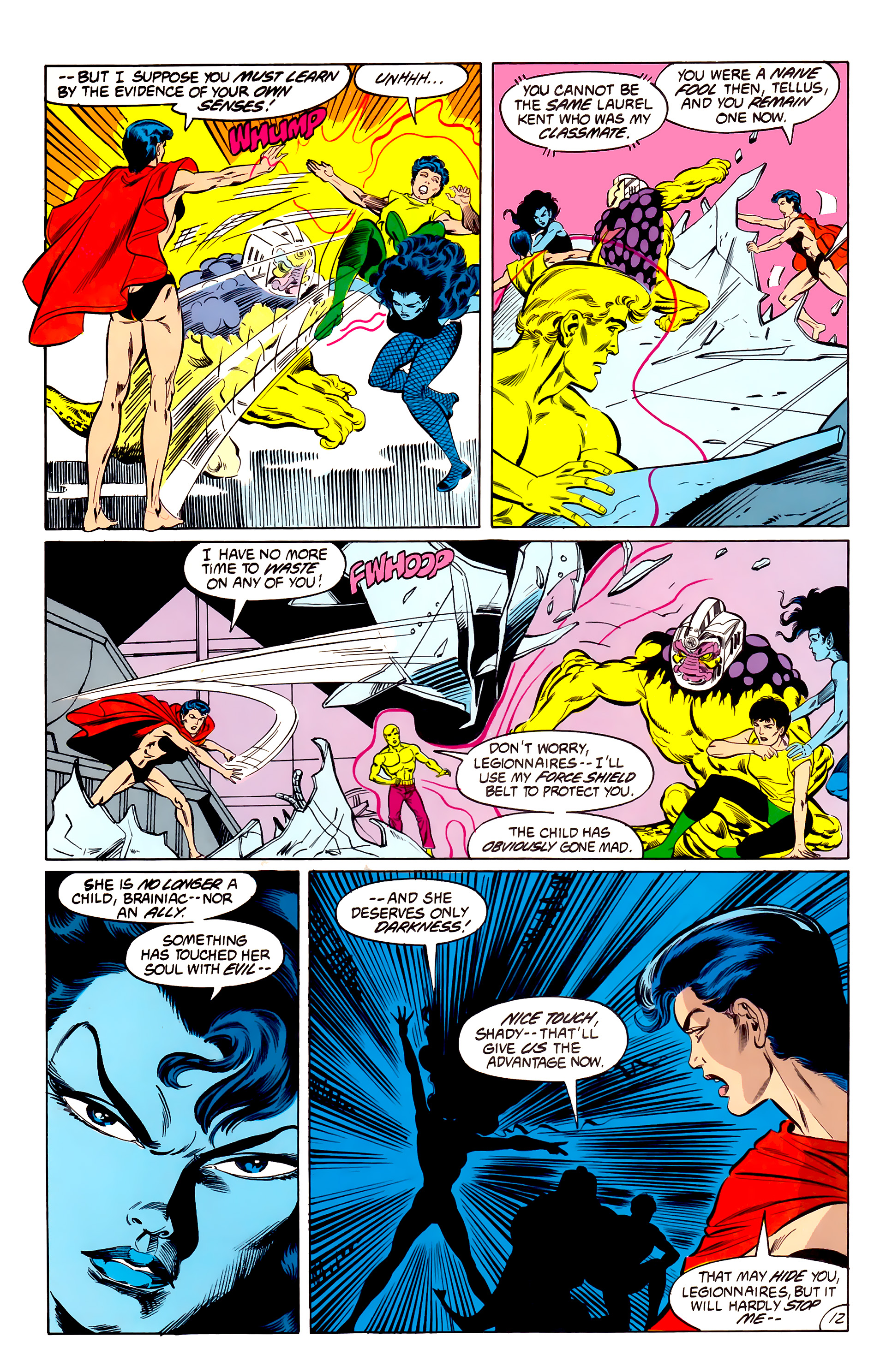 Legion of Super-Heroes (1984) 42 Page 12