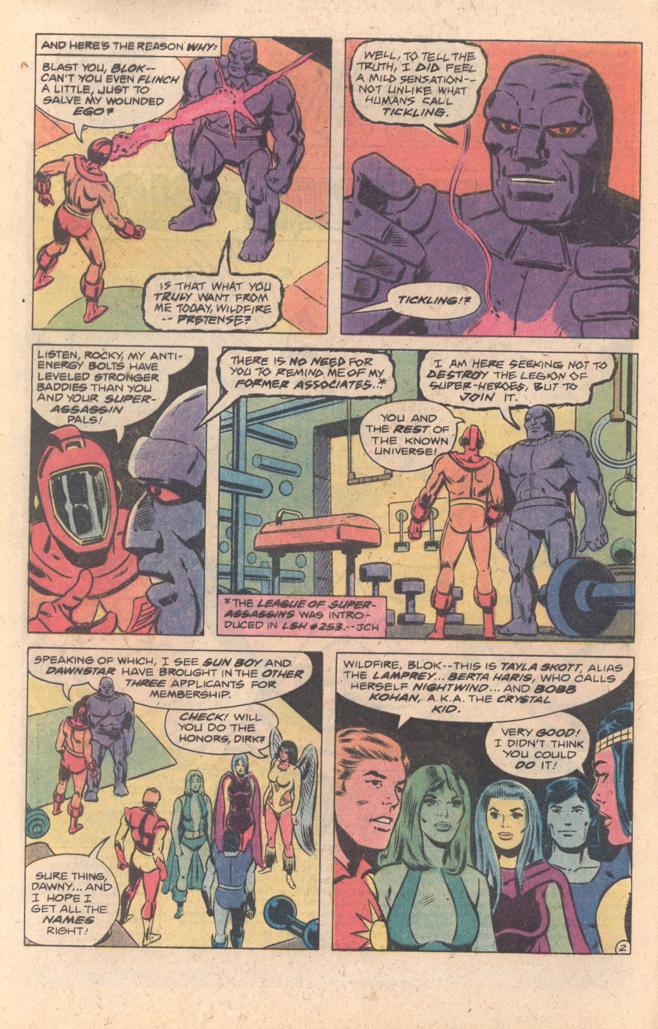 Legion of Super-Heroes (1980) 272 Page 2