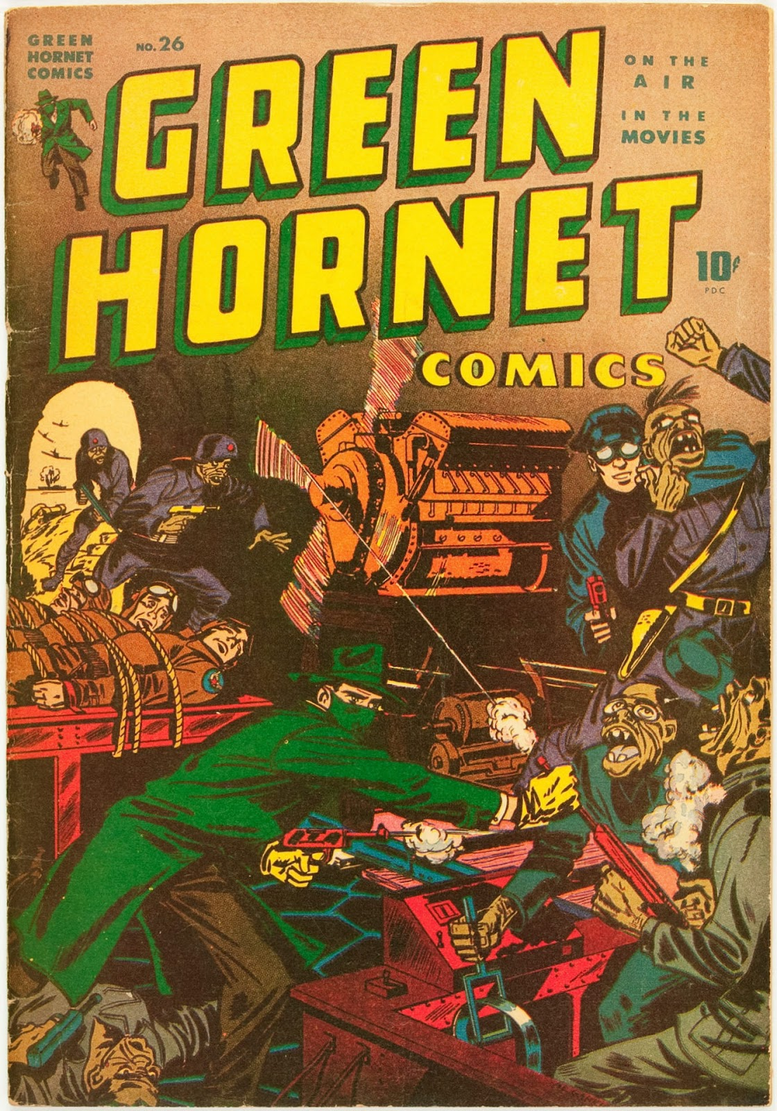 Green Hornet Comics issue 26 - Page 1