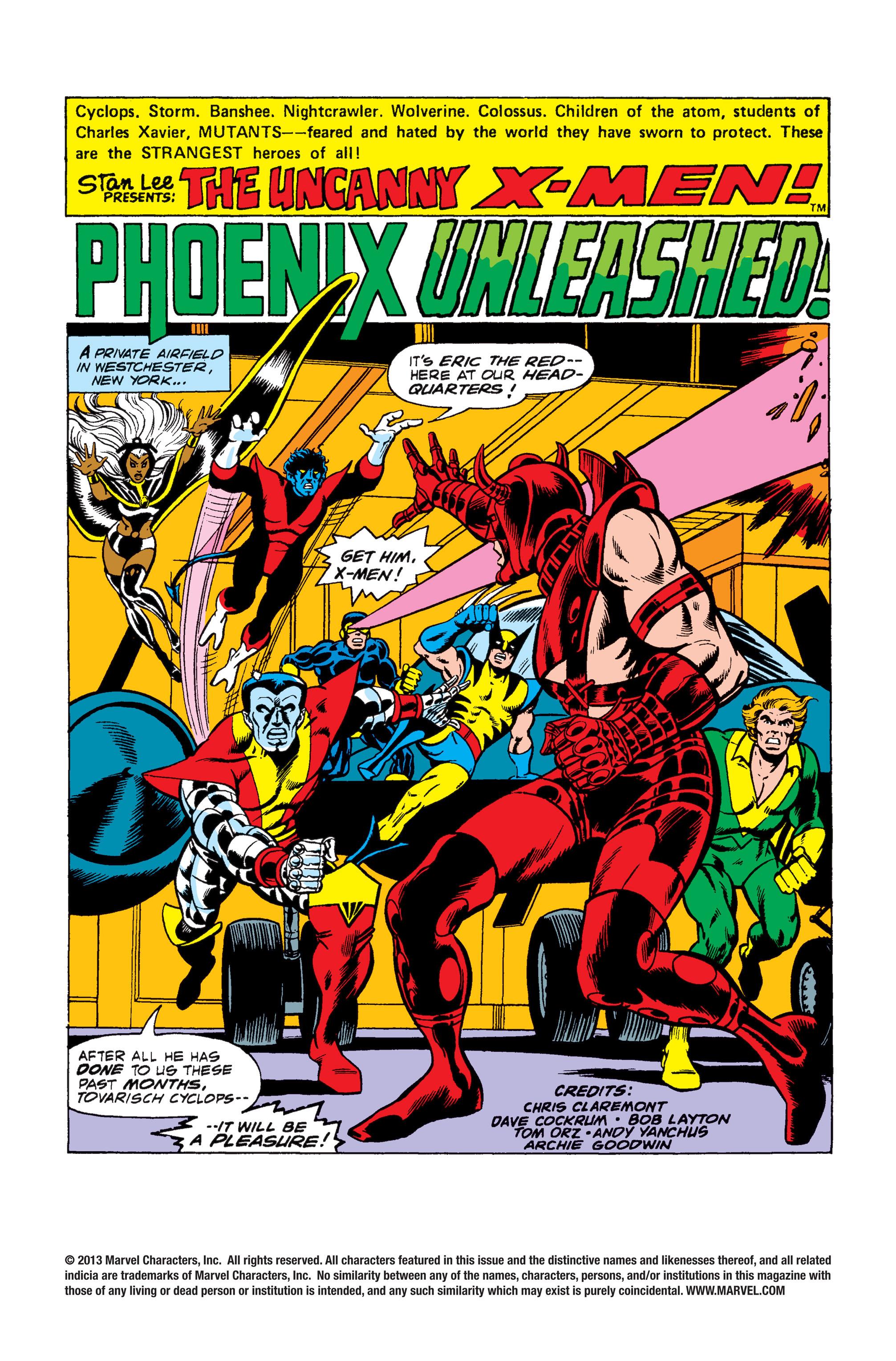 Read online Uncanny X-Men (1963) comic -  Issue #105 - 2