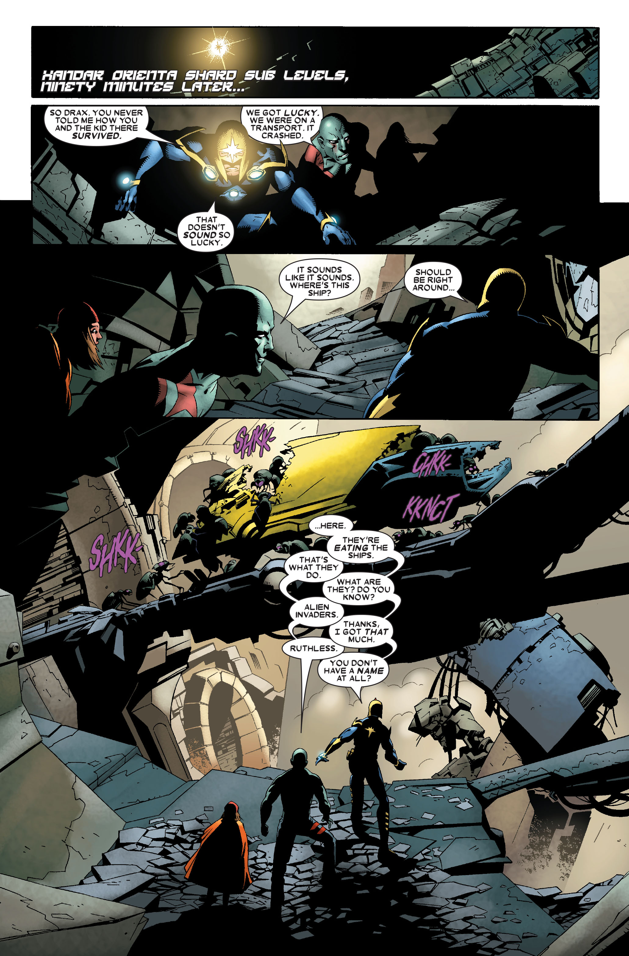 Read online Annihilation: Nova comic -  Issue #2 - 9