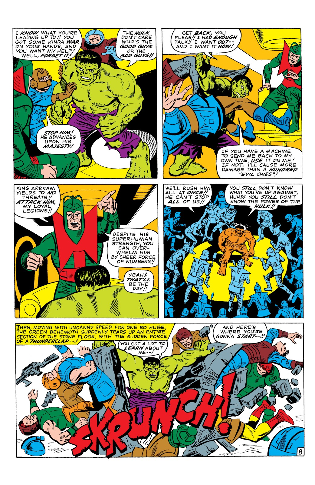 Read online Marvel Masterworks: The Incredible Hulk comic -  Issue # TPB 2 (Part 3) - 8