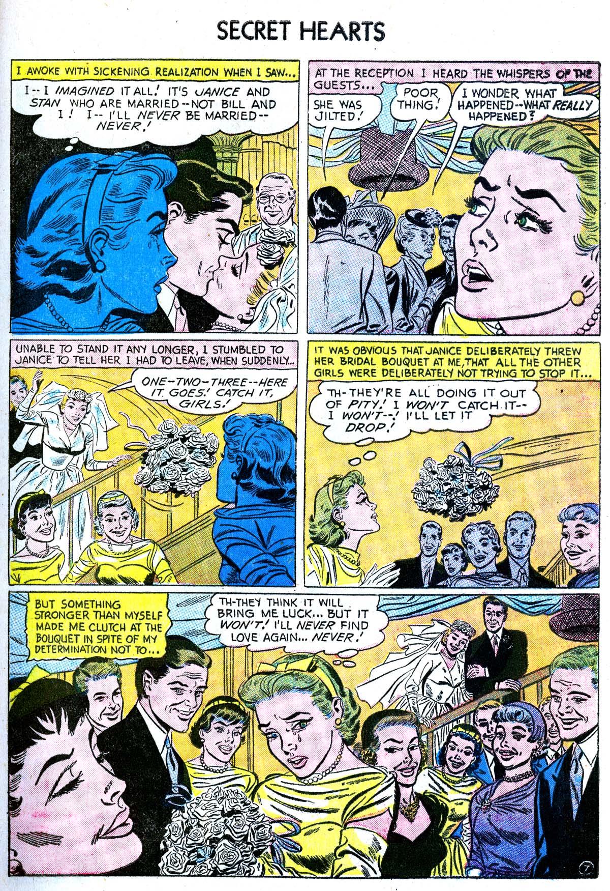 Read online Secret Hearts comic -  Issue #38 - 33