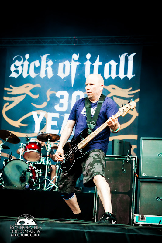 Sick of It All @Hellfest 2016 - samedi 18/06
