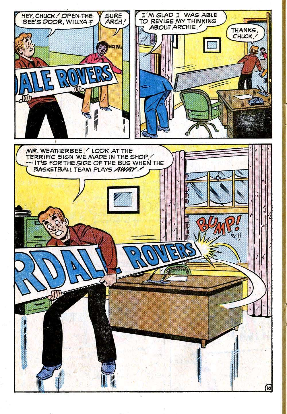 Read online Archie (1960) comic -  Issue #218 - 14