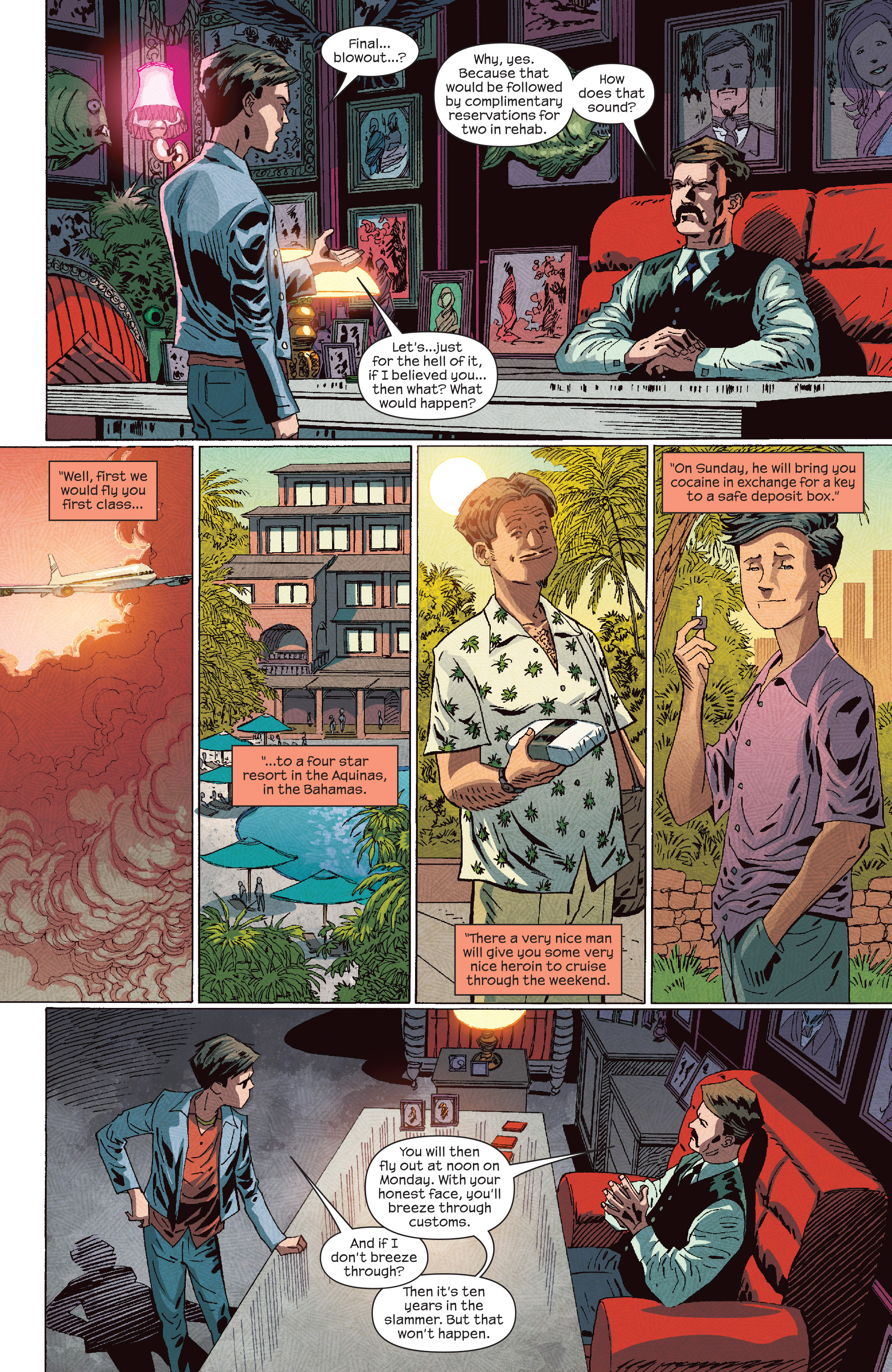 Read online Dark Tower: The Drawing of the Three - The Prisoner comic -  Issue #4 - 14