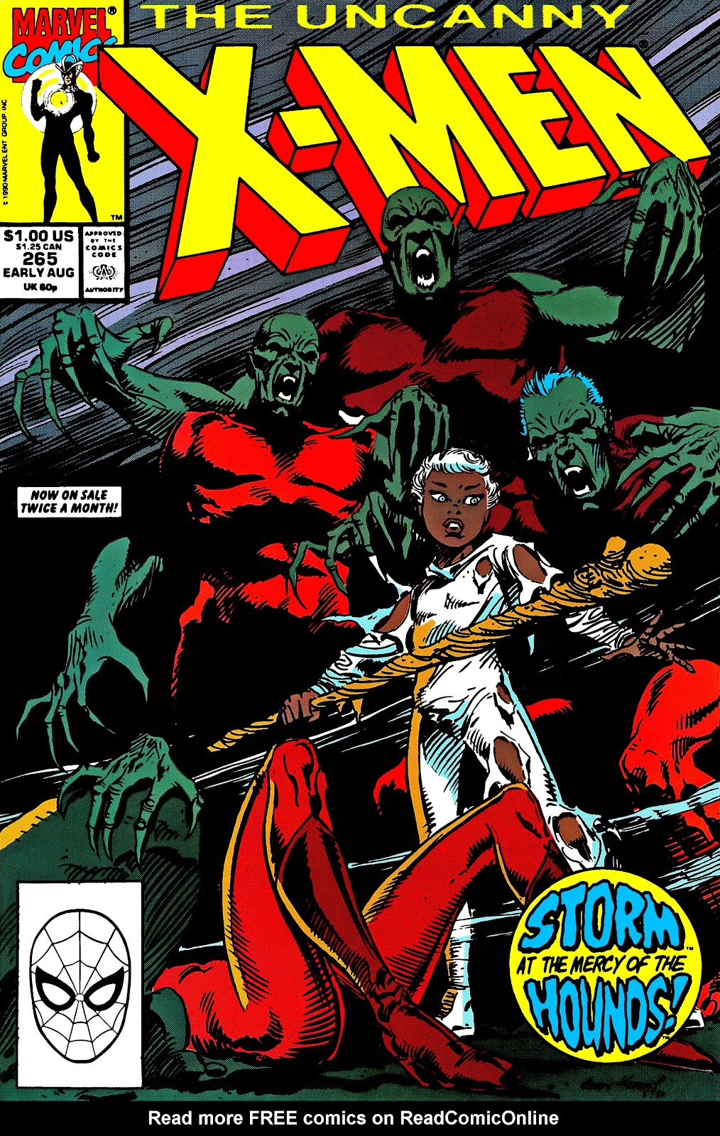 Uncanny X-Men (1963) issue 265 - Page 1