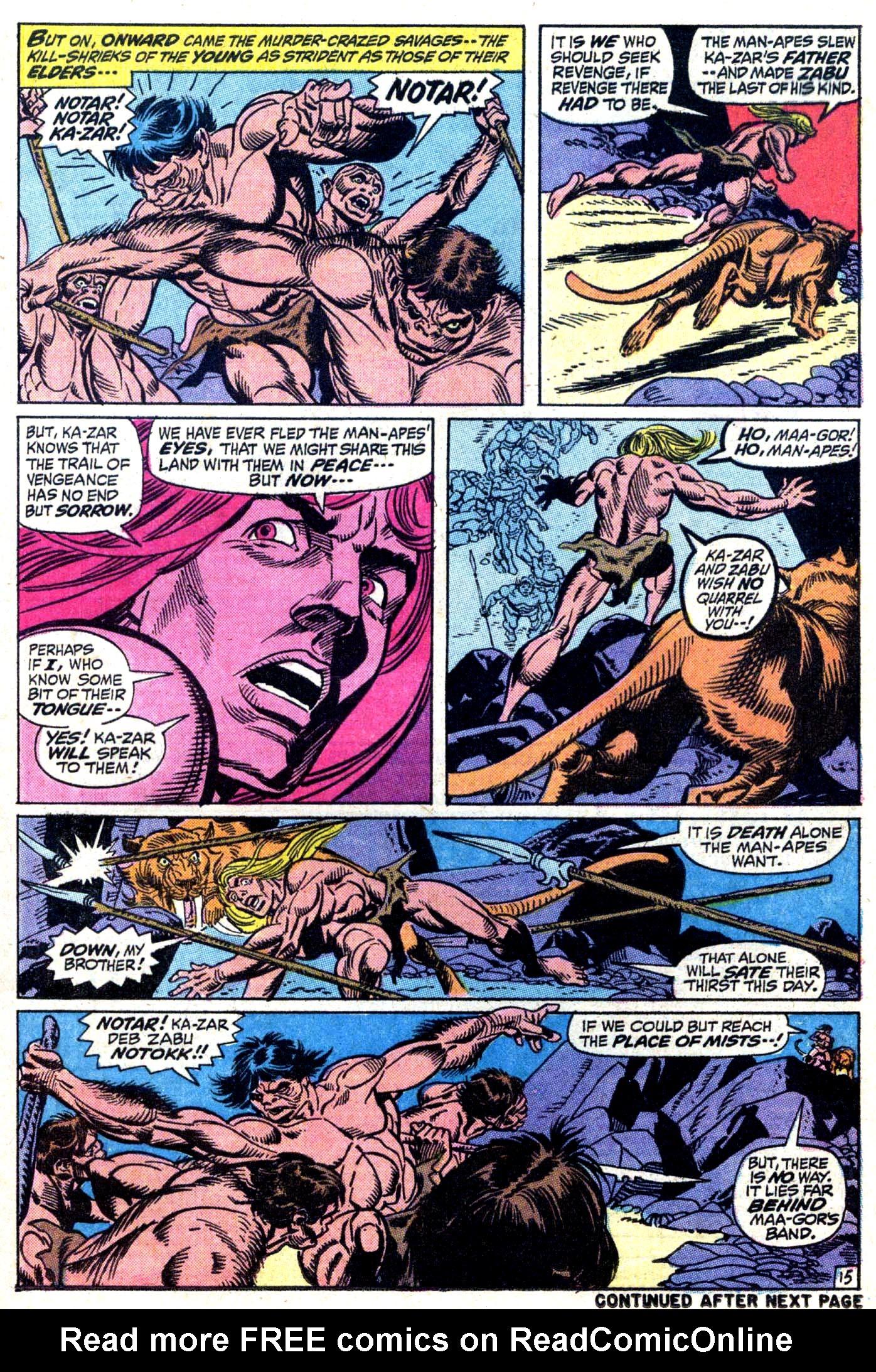 Read online Astonishing Tales (1970) comic -  Issue #11 - 16