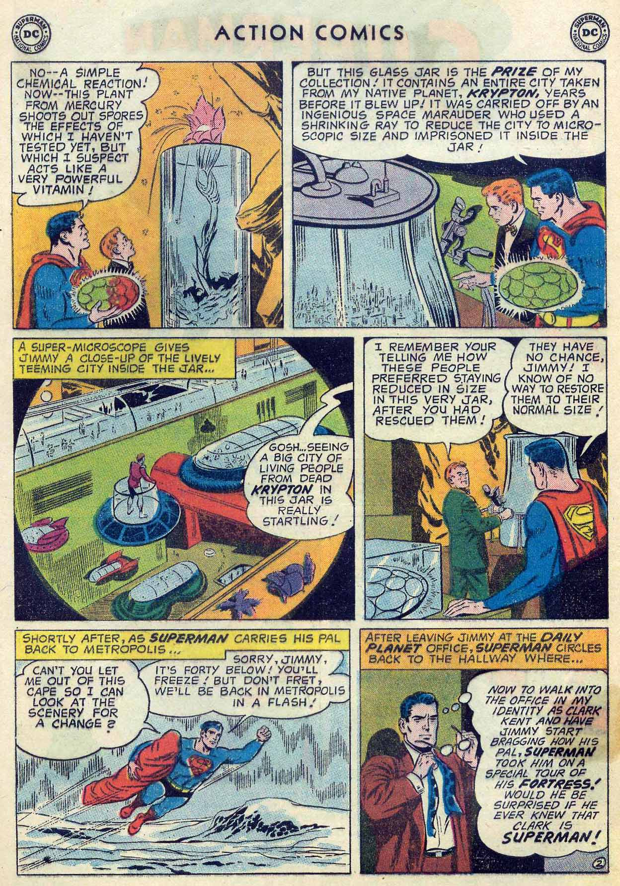 Read online Action Comics (1938) comic -  Issue #253 - 4