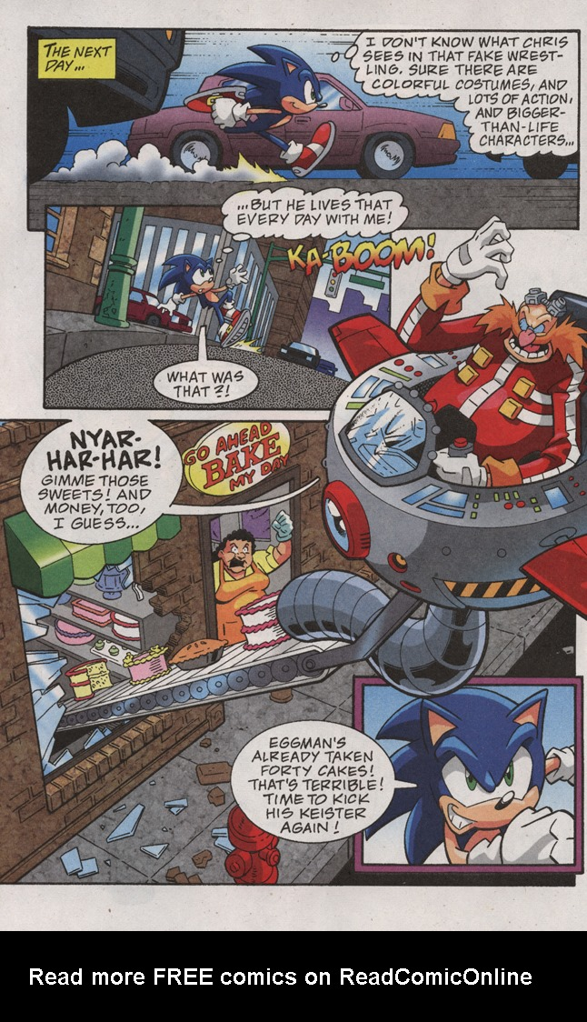 Read online Sonic X comic -  Issue #31 - 6