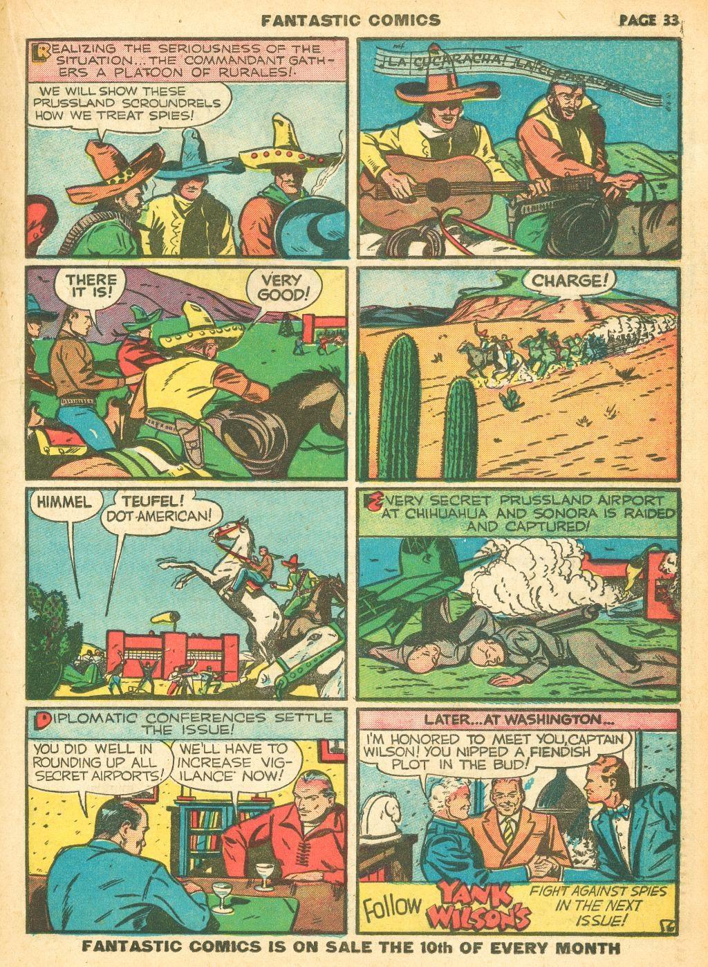 Read online Fantastic Comics comic -  Issue #12 - 35
