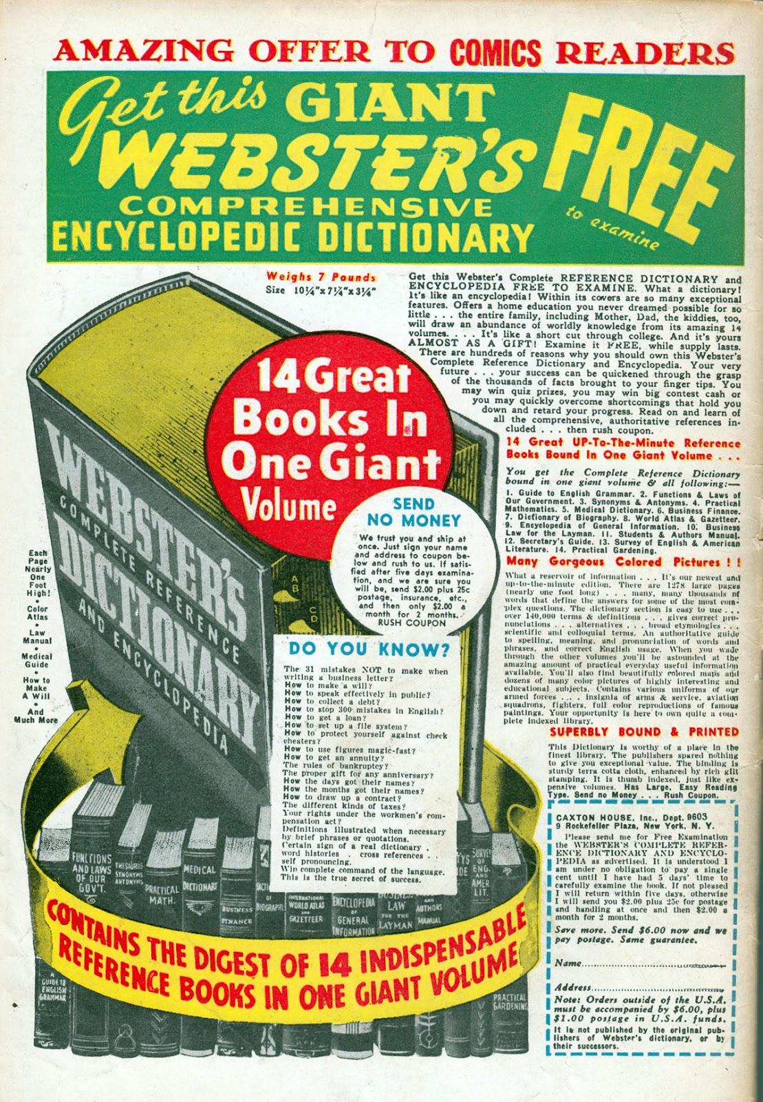 Read online Comedy Comics (1942) comic -  Issue #15 - 60