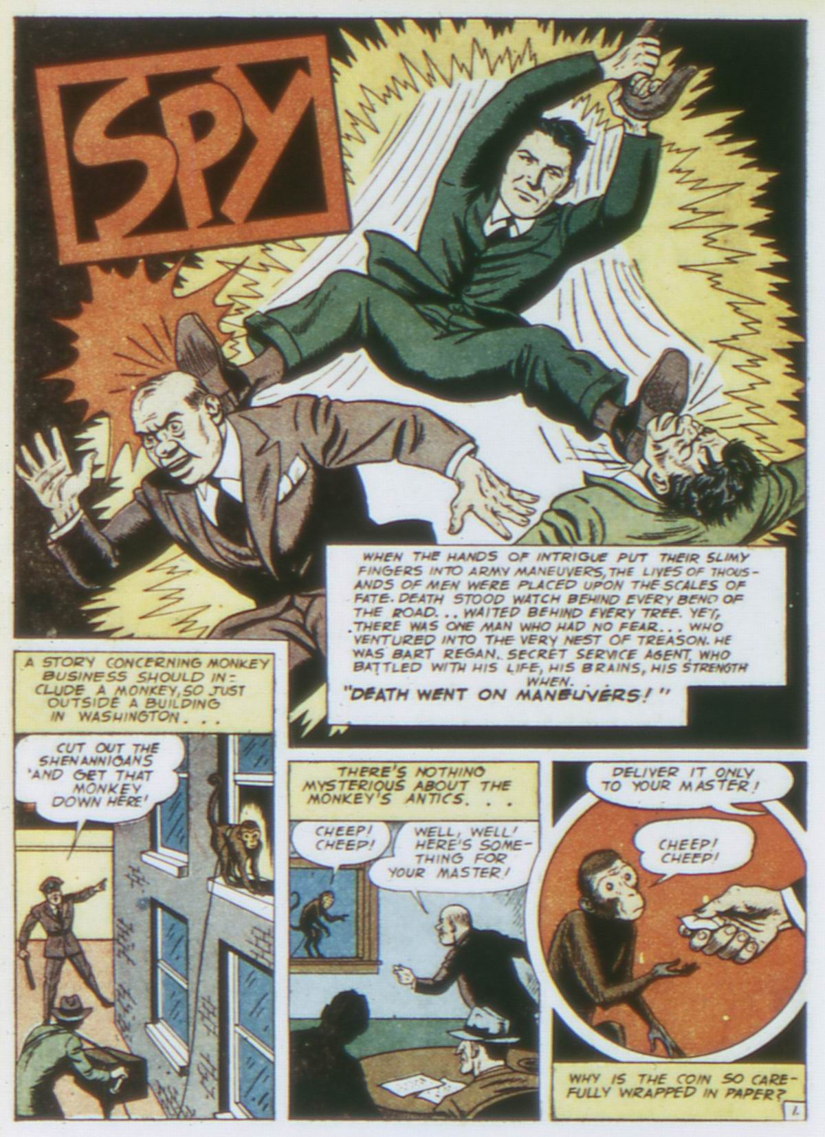 Read online Detective Comics (1937) comic -  Issue #75 - 42