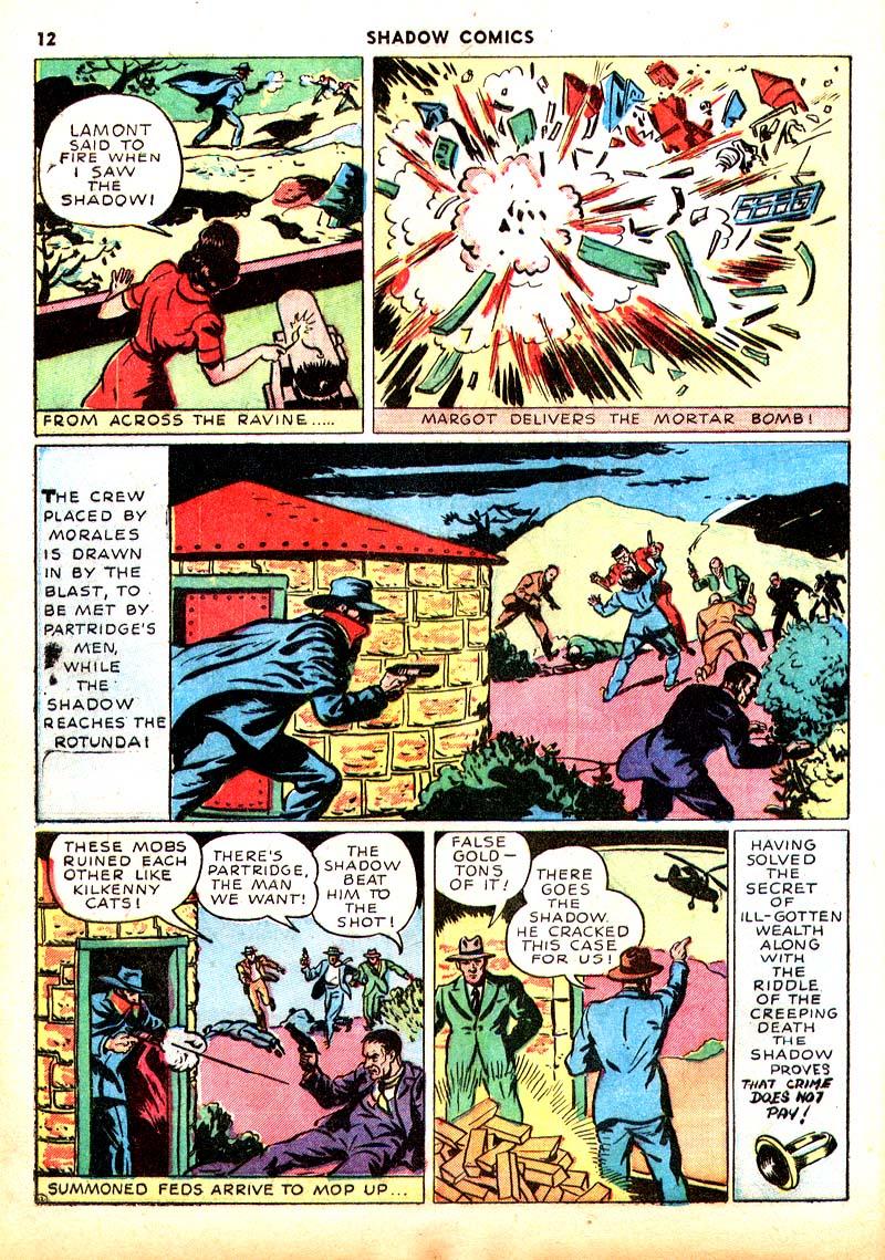 Read online Shadow Comics comic -  Issue #7 - 13
