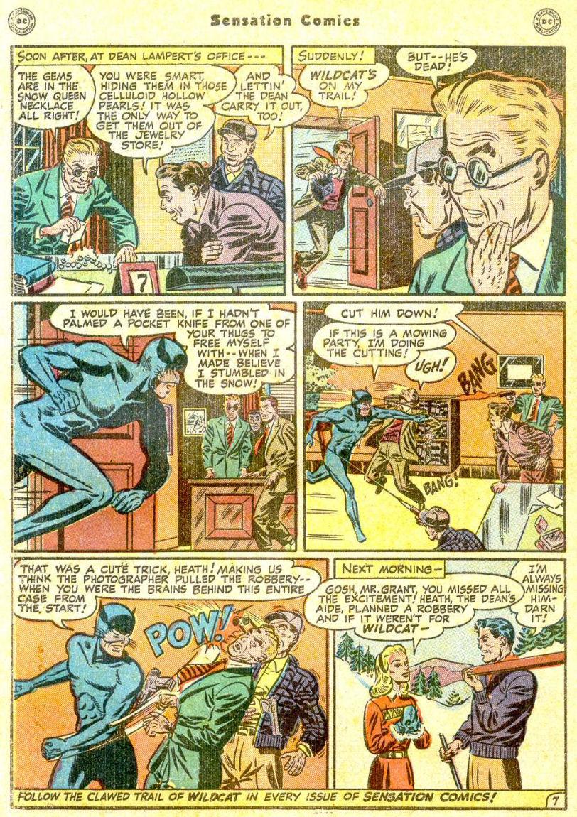 Read online Sensation (Mystery) Comics comic -  Issue #77 - 50