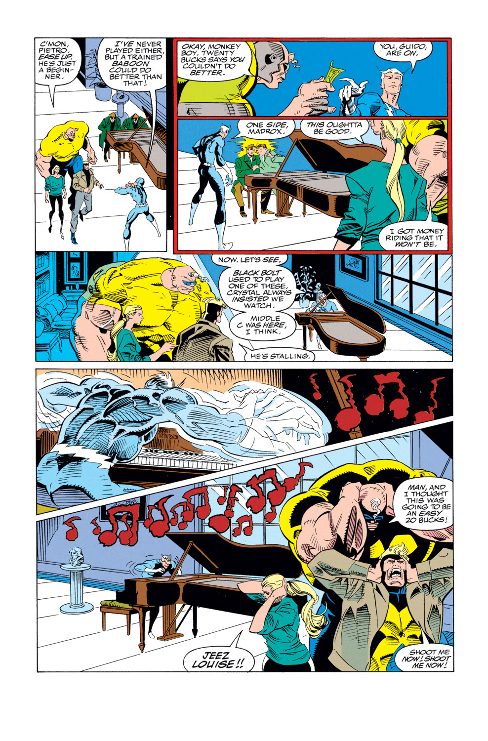 Read online X-Factor (1986) comic -  Issue #79 - 4