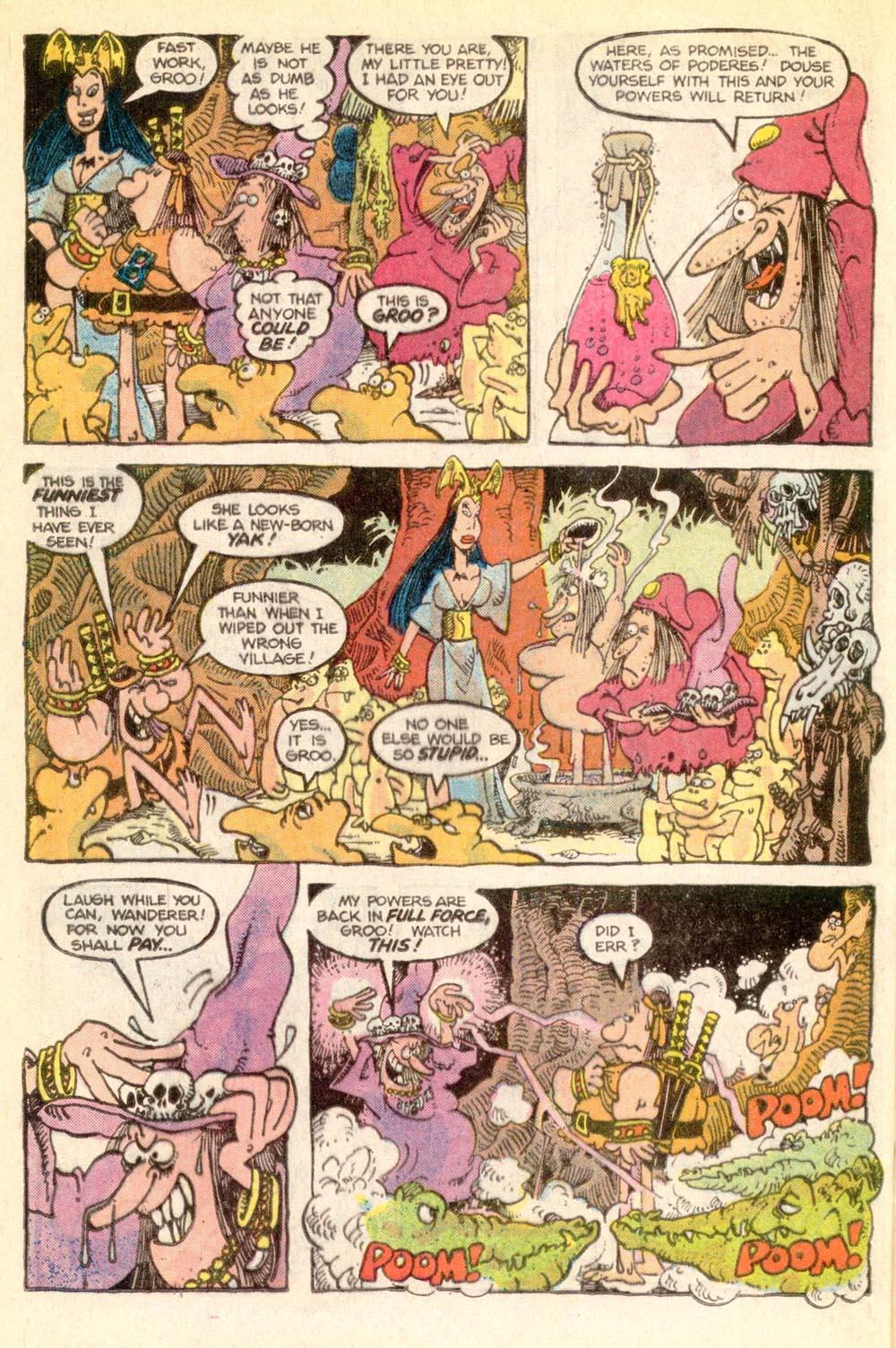 Read online Sergio Aragonés Groo the Wanderer comic -  Issue #21 - 14