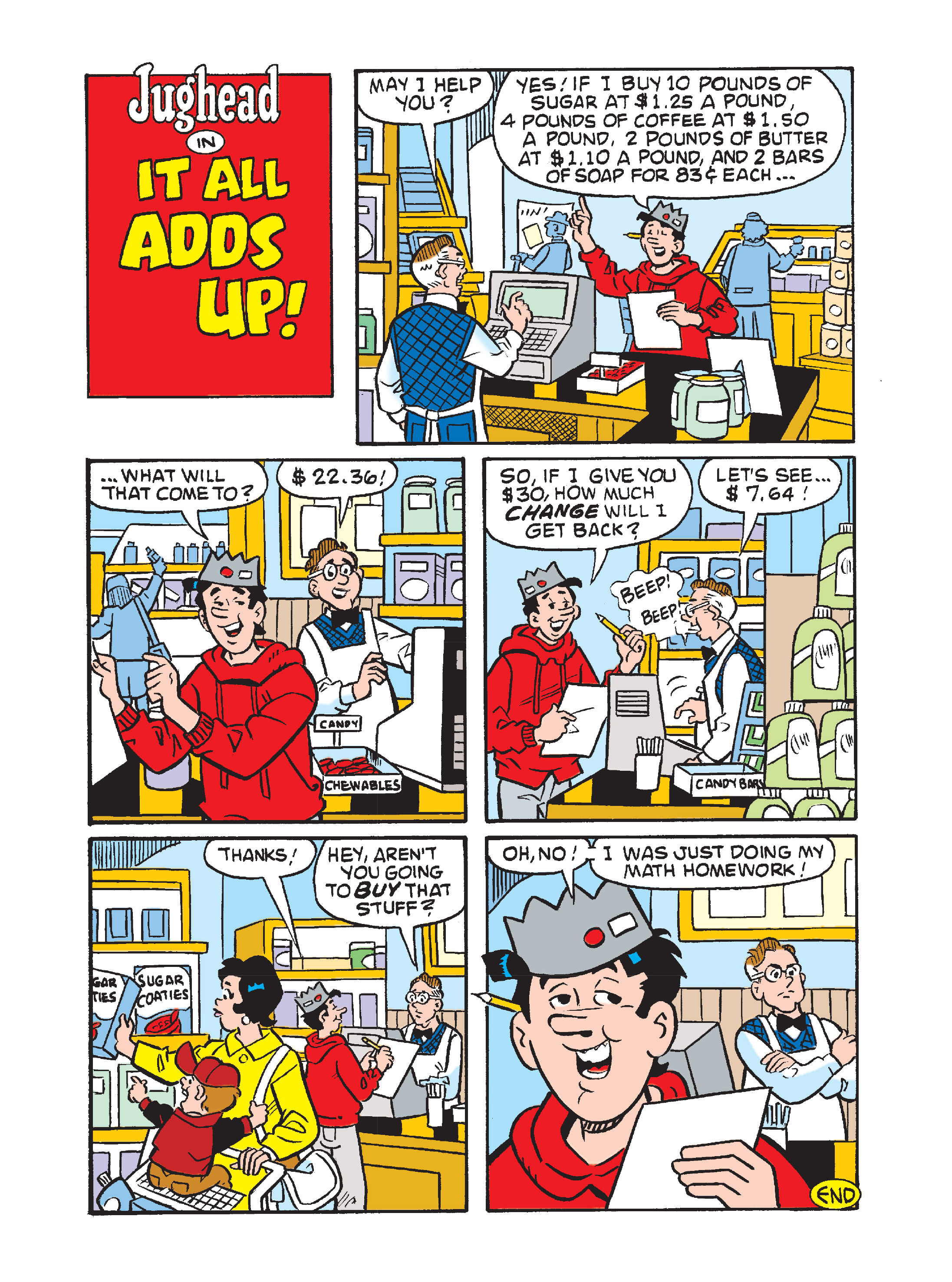 Read online Archie's Funhouse Double Digest comic -  Issue #10 - 126