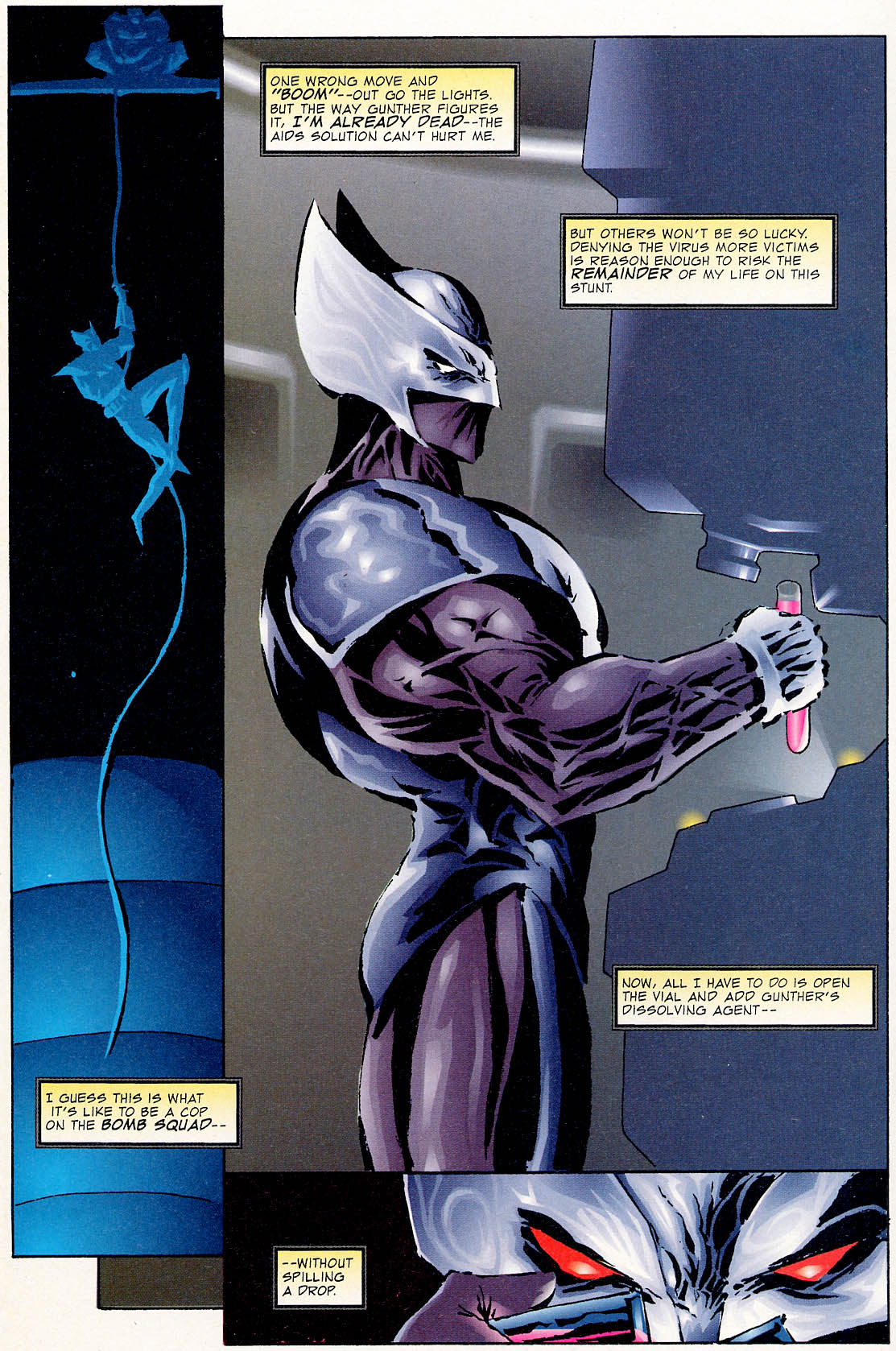 Read online ShadowHawk comic -  Issue #0 - 14