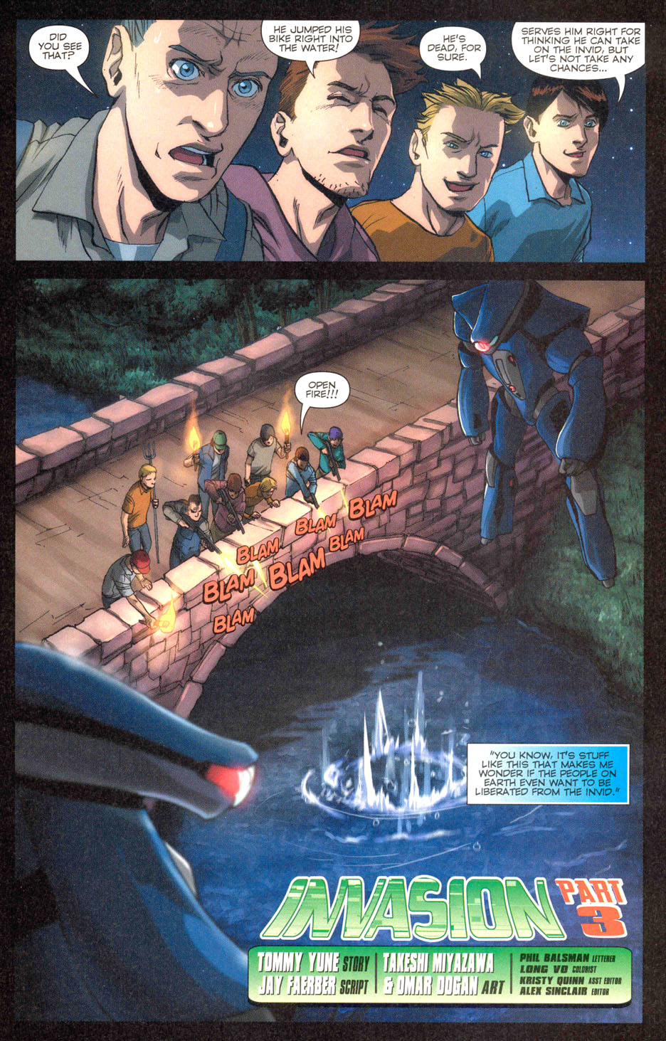 Read online Robotech: Invasion comic -  Issue #3 - 2