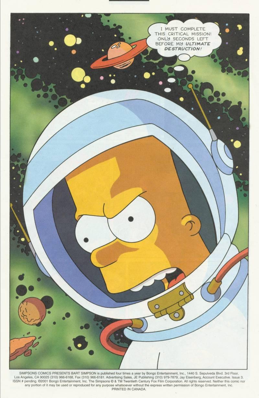 Read online Simpsons Comics Presents Bart Simpson comic -  Issue #3 - 3