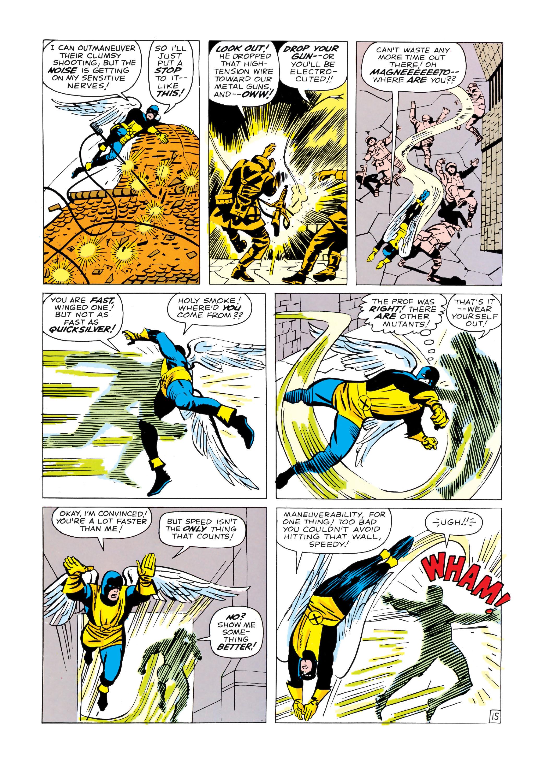 Read online Uncanny X-Men (1963) comic -  Issue #4 - 16