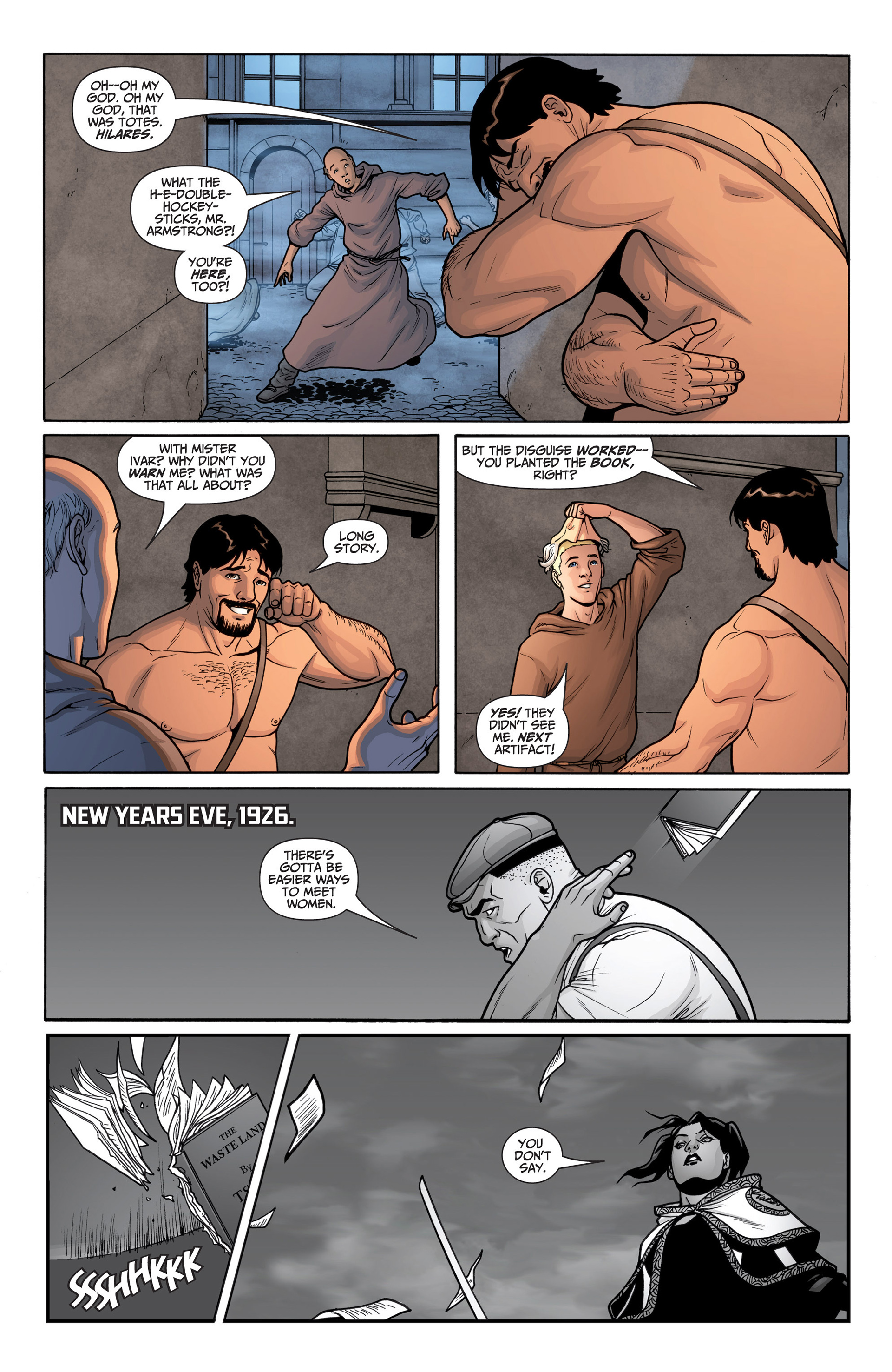 Read online Archer and Armstrong comic -  Issue #23 - 16