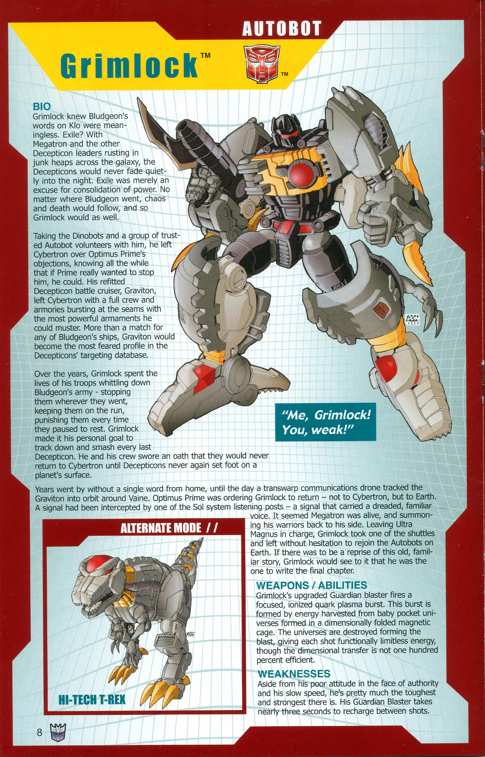 Read online Transformers: Collectors' Club comic -  Issue #13 - 8