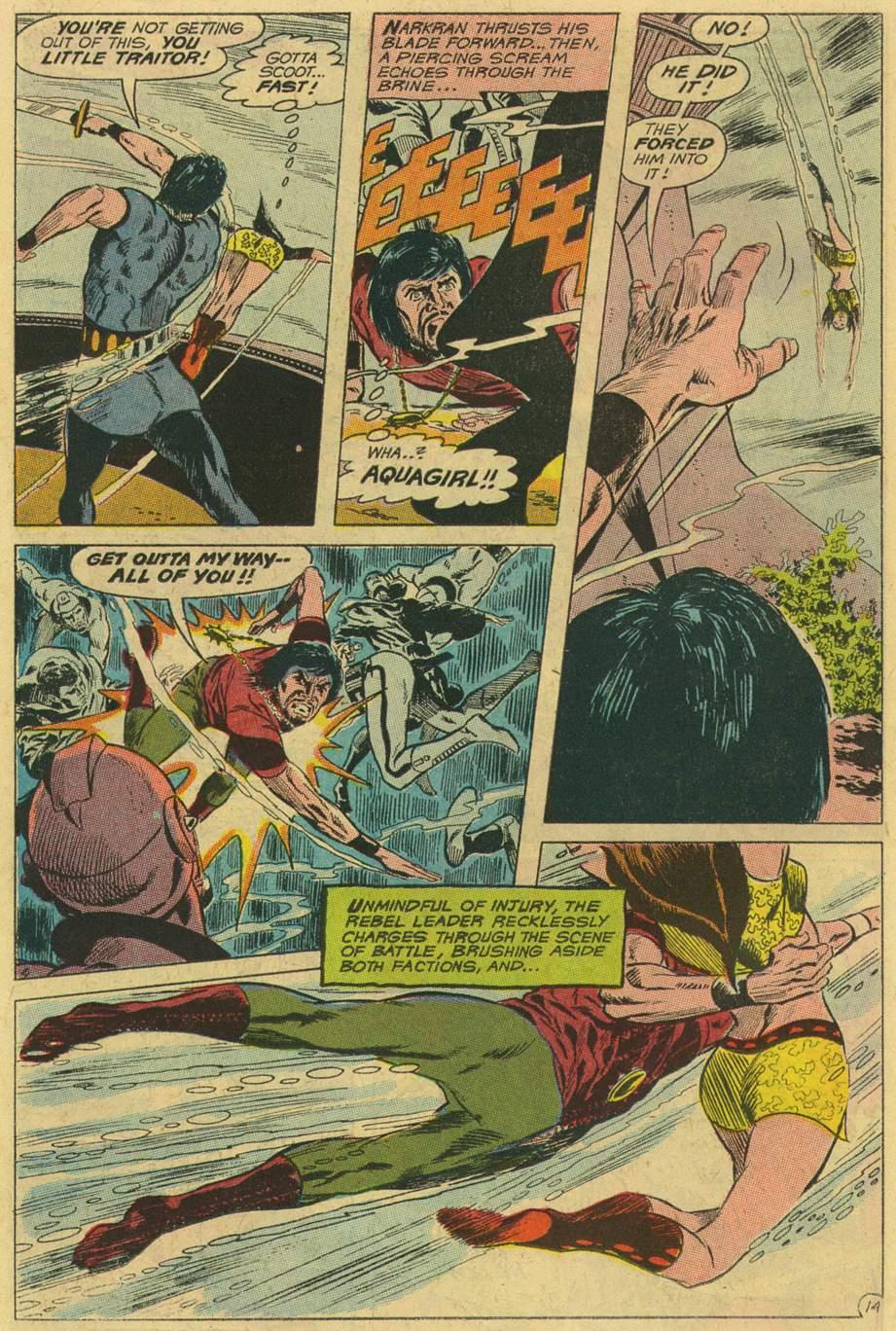 Read online Aquaman (1962) comic -  Issue #47 - 18