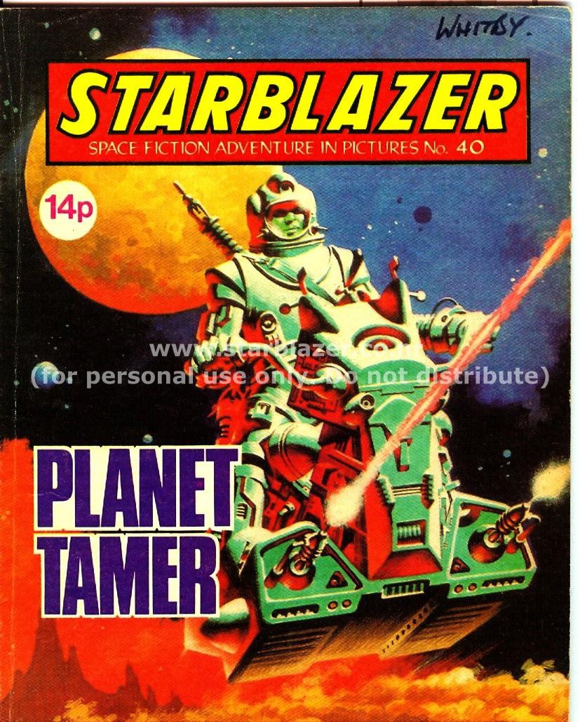 Starblazer issue 40 - Page 1
