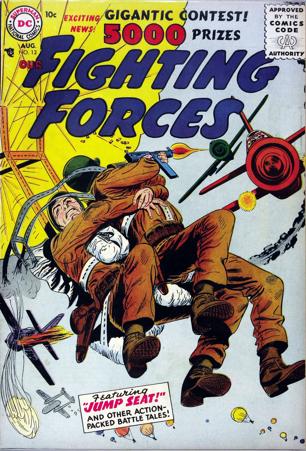 Our Fighting Forces (1954) issue 12 - Page 1
