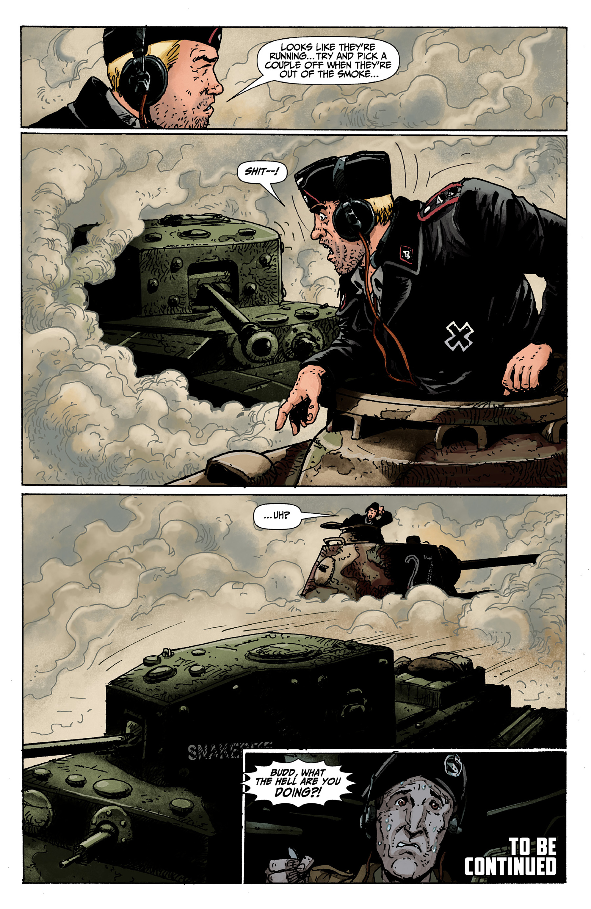 Read online World of Tanks comic -  Issue #1 - 20