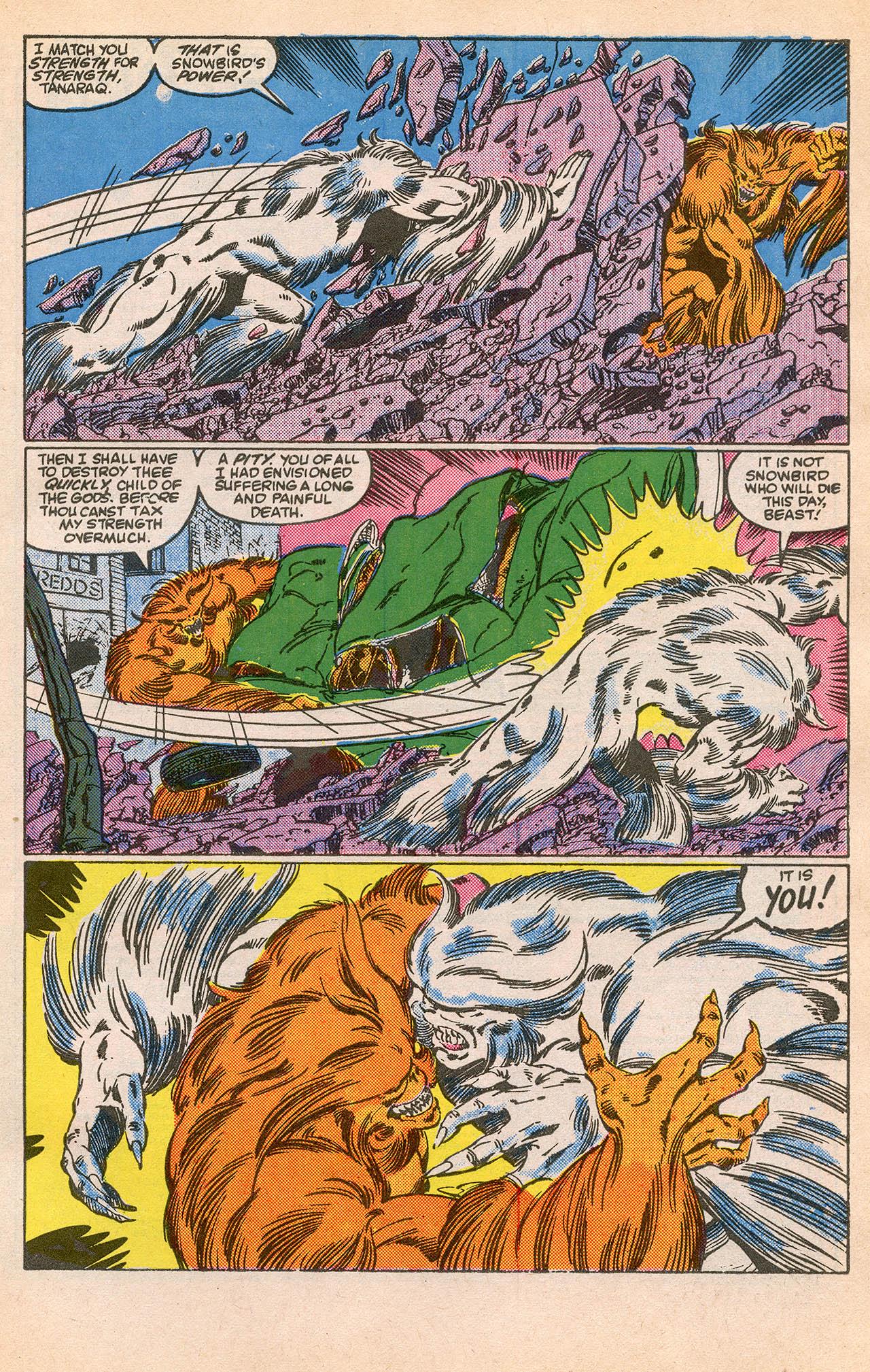 Read online Alpha Flight (1983) comic -  Issue #23 - 29