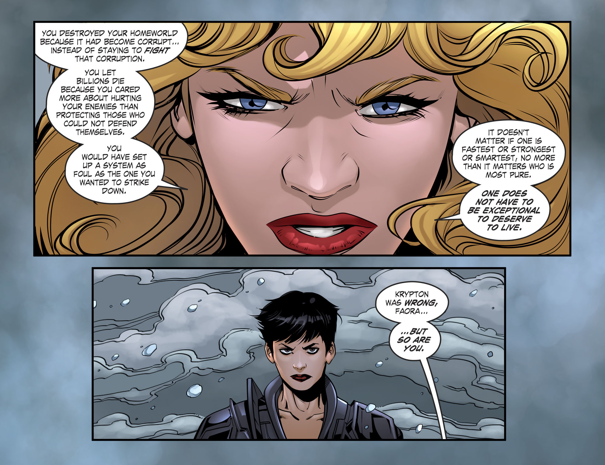 Read online DC Comics: Bombshells comic -  Issue #94 - 21