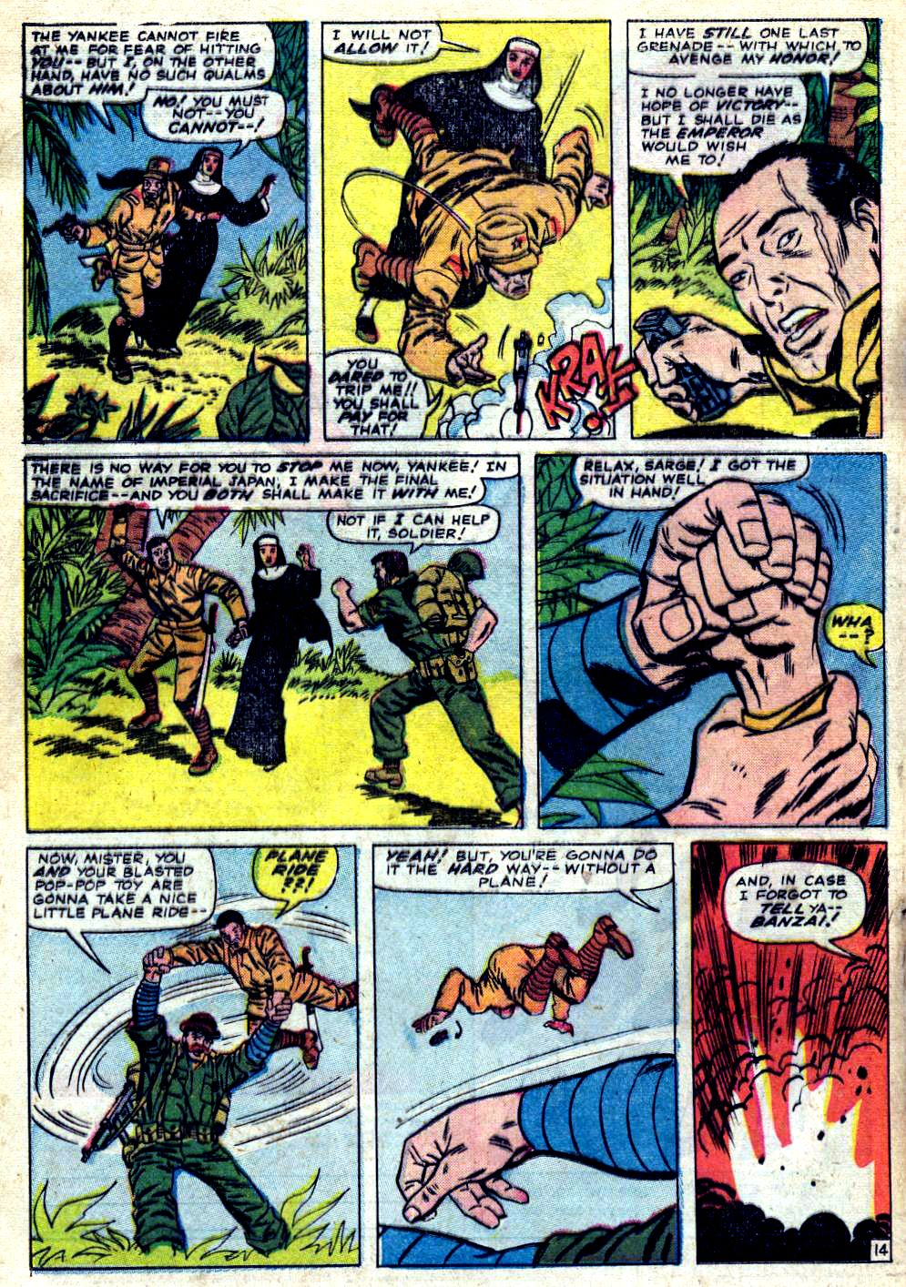 Read online Sgt. Fury comic -  Issue #23 - 20