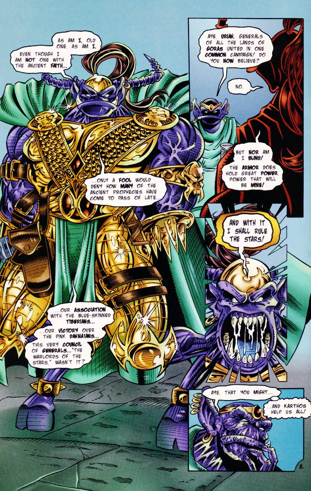 Read online The Alliance comic -  Issue #1 - 10