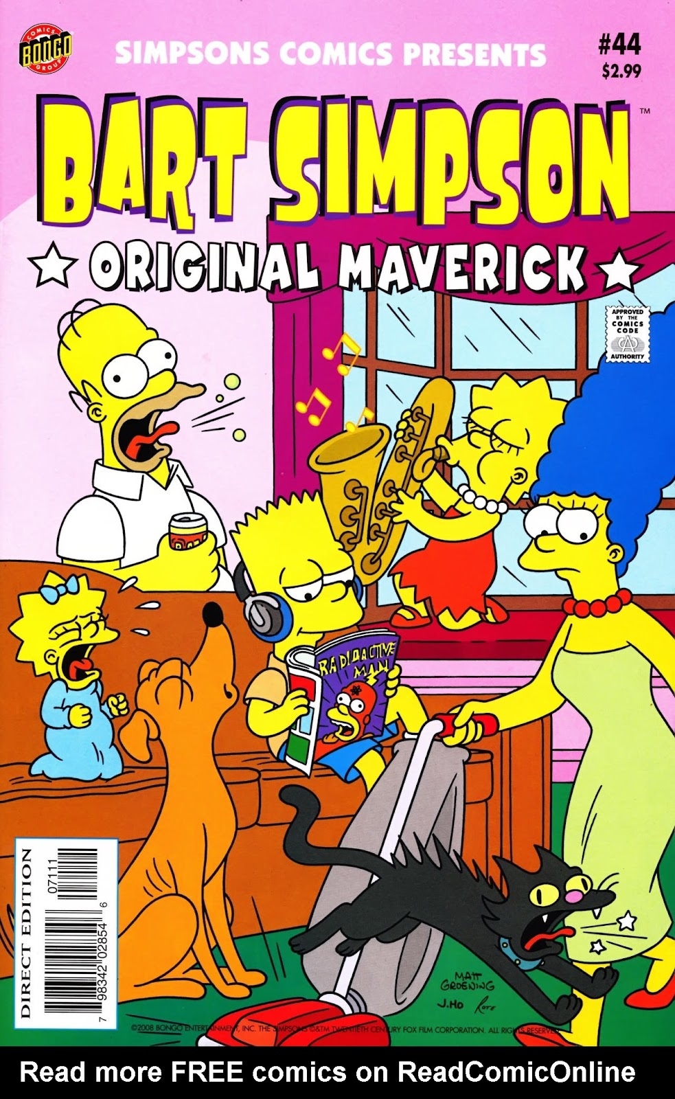 Simpsons Comics Presents Bart Simpson 44 Page 1