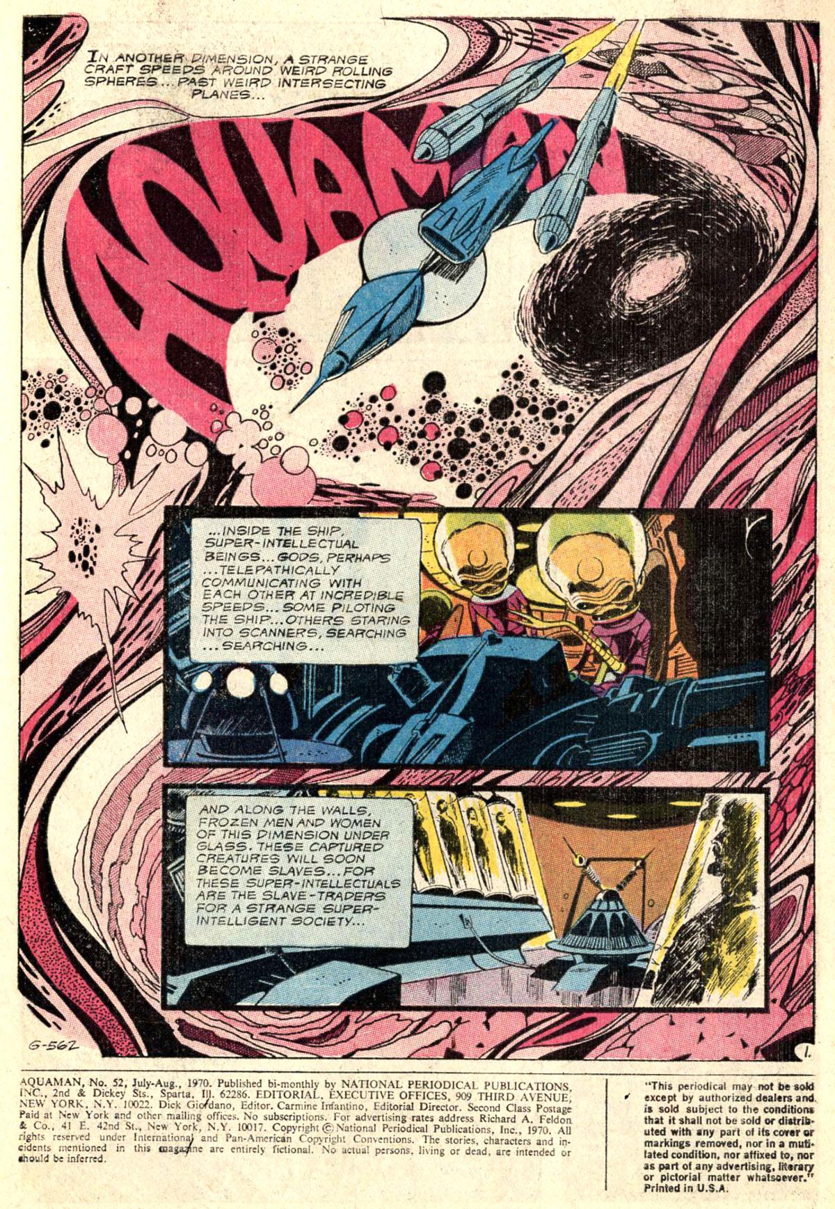 Read online Aquaman (1962) comic -  Issue #52 - 3