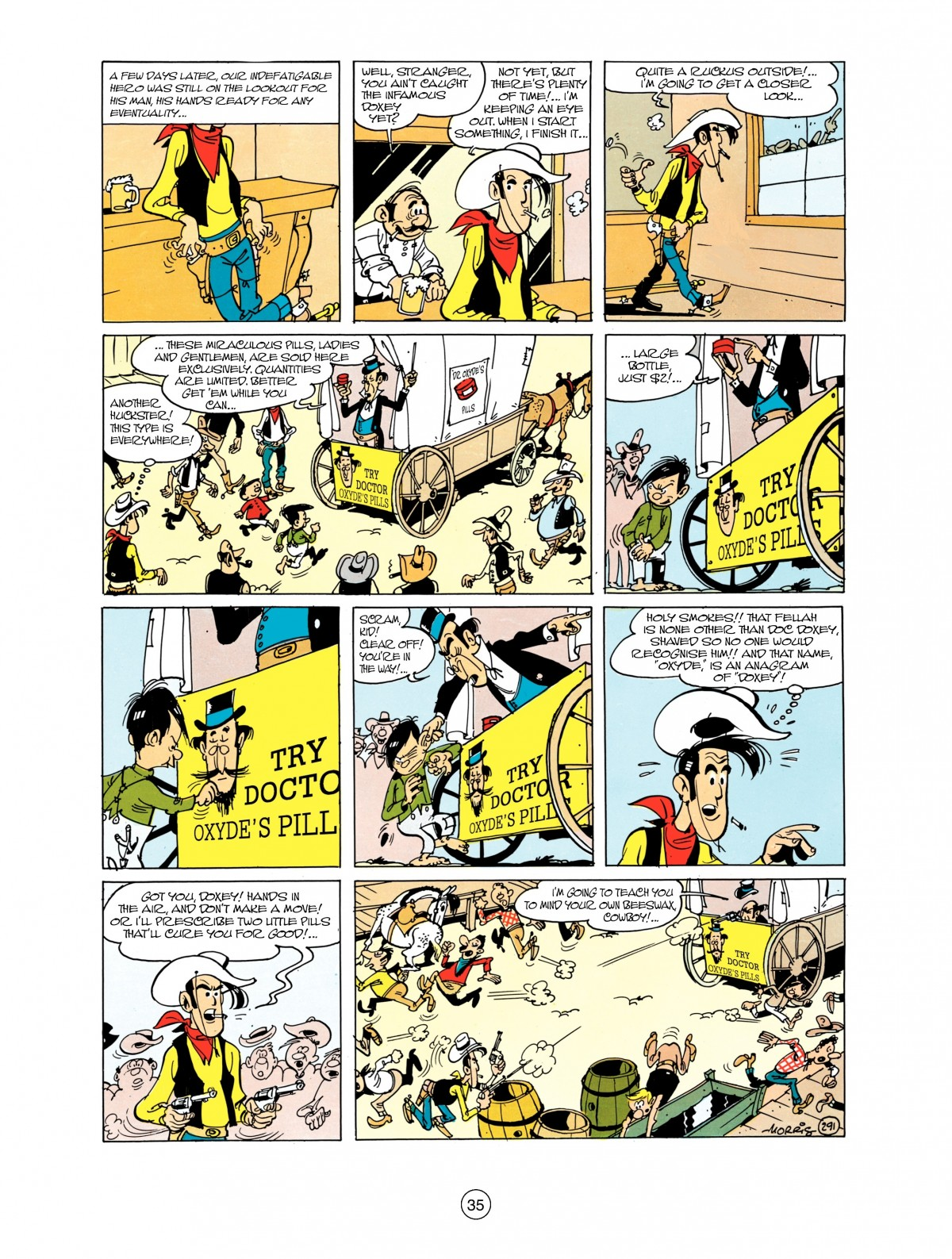 Read online A Lucky Luke Adventure comic -  Issue #38 - 35