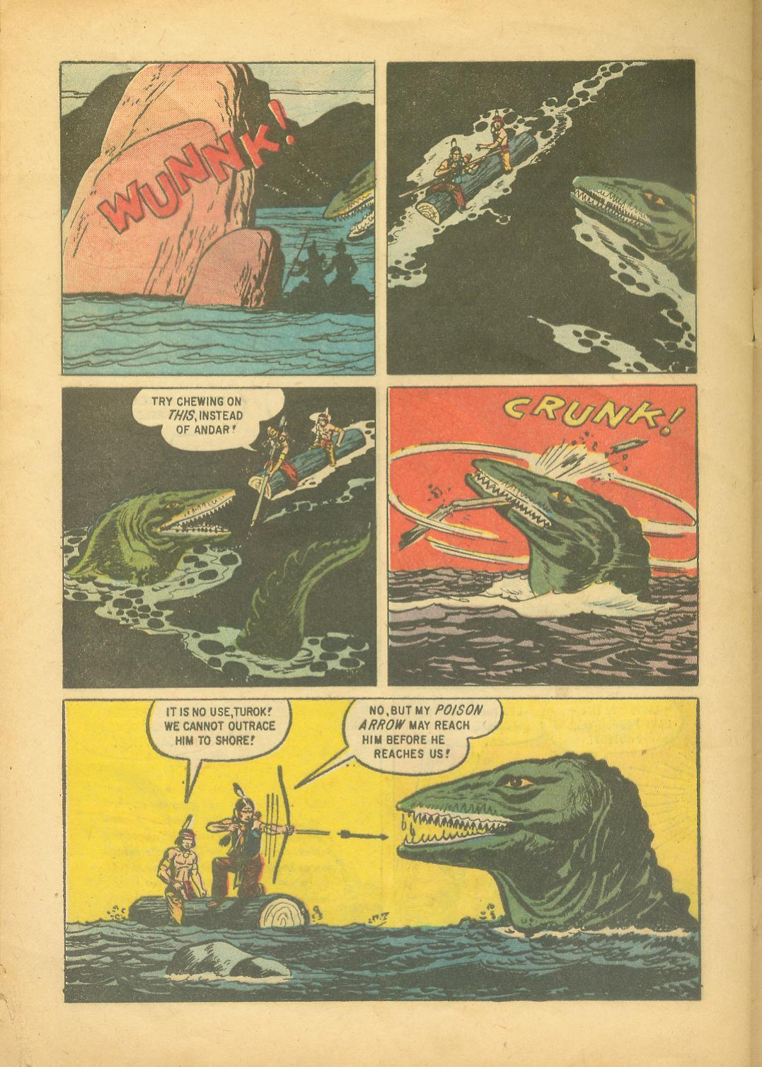 Read online Turok, Son of Stone comic -  Issue #18 - 32